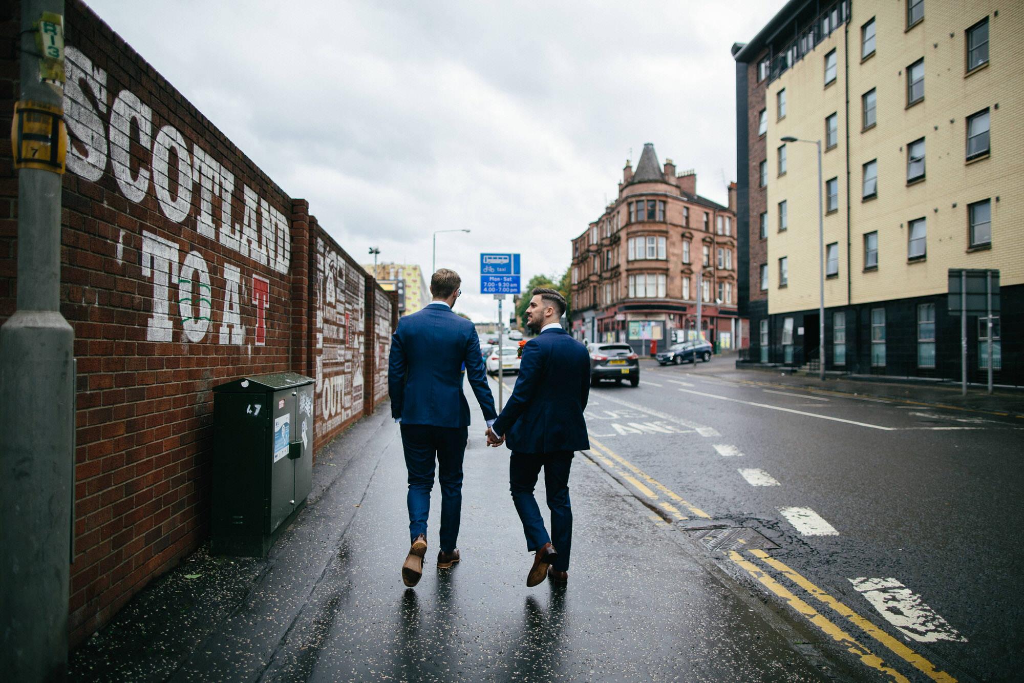 Alternative Same Sex Wedding Photography Scotland Glasgow Drygate 034.jpg