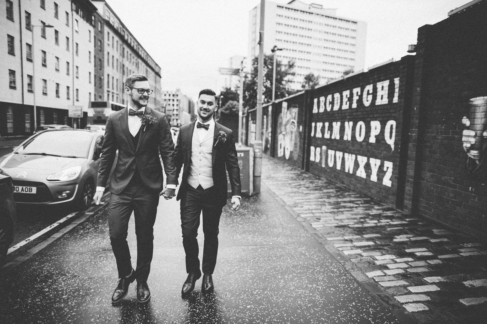 Alternative Same Sex Wedding Photography Scotland Glasgow Drygate 035.jpg