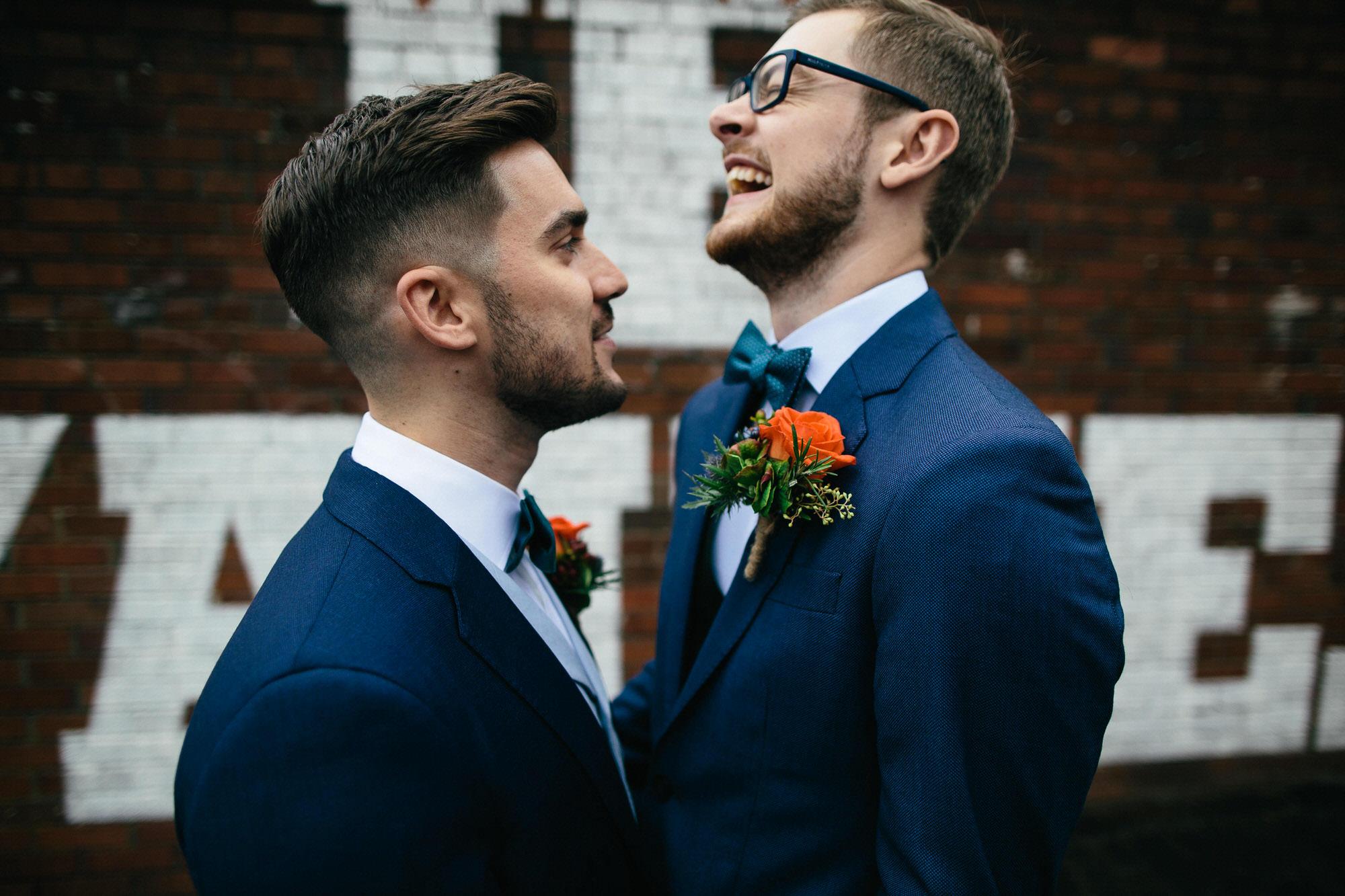 Alternative Same Sex Wedding Photography Scotland Glasgow Drygate 037.jpg