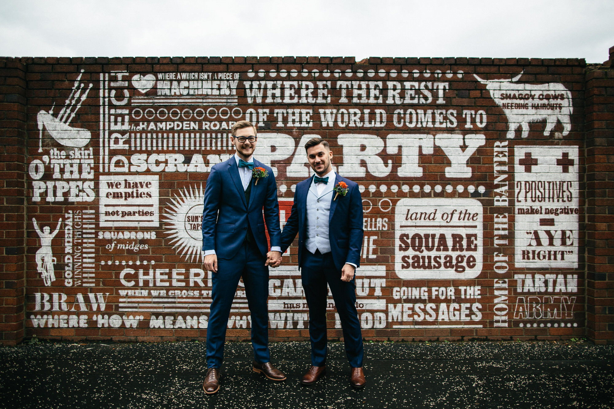 Alternative Same Sex Wedding Photography Scotland Glasgow Drygate 036.jpg