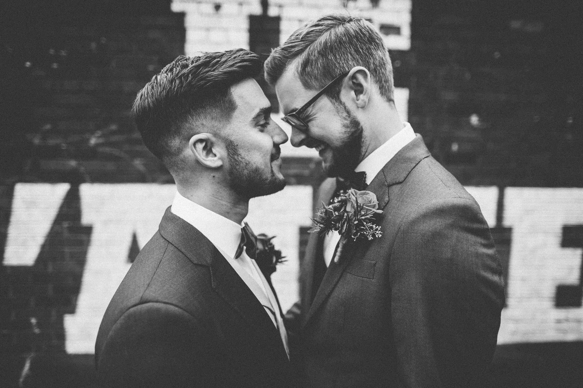 Alternative Same Sex Wedding Photography Scotland Glasgow Drygate 038.jpg