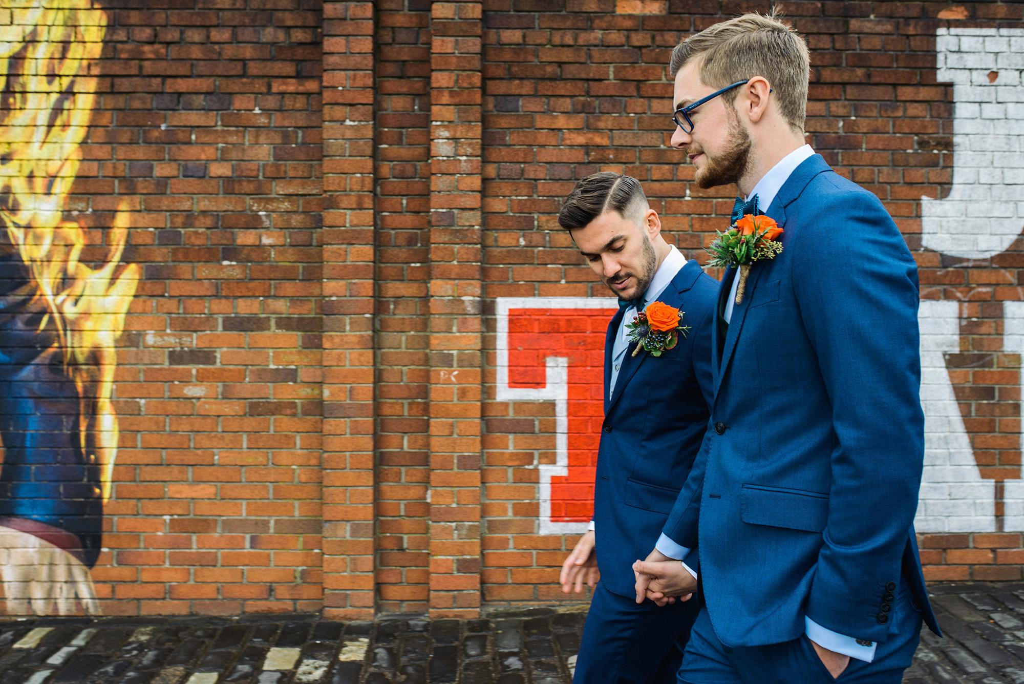 Alternative Same Sex Wedding Photography Scotland Glasgow Drygate 047.jpg