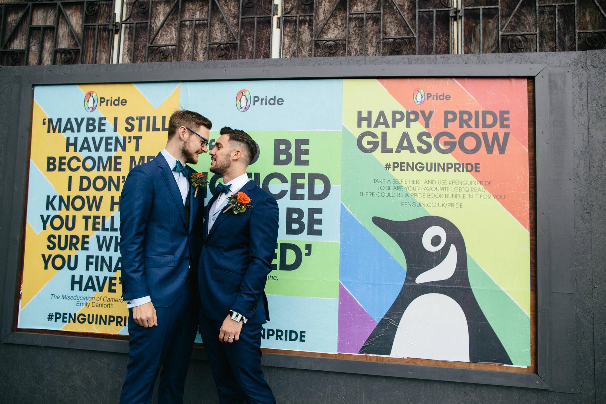 Alternative Same Sex Wedding Photography Scotland Glasgow Drygate 048.jpg
