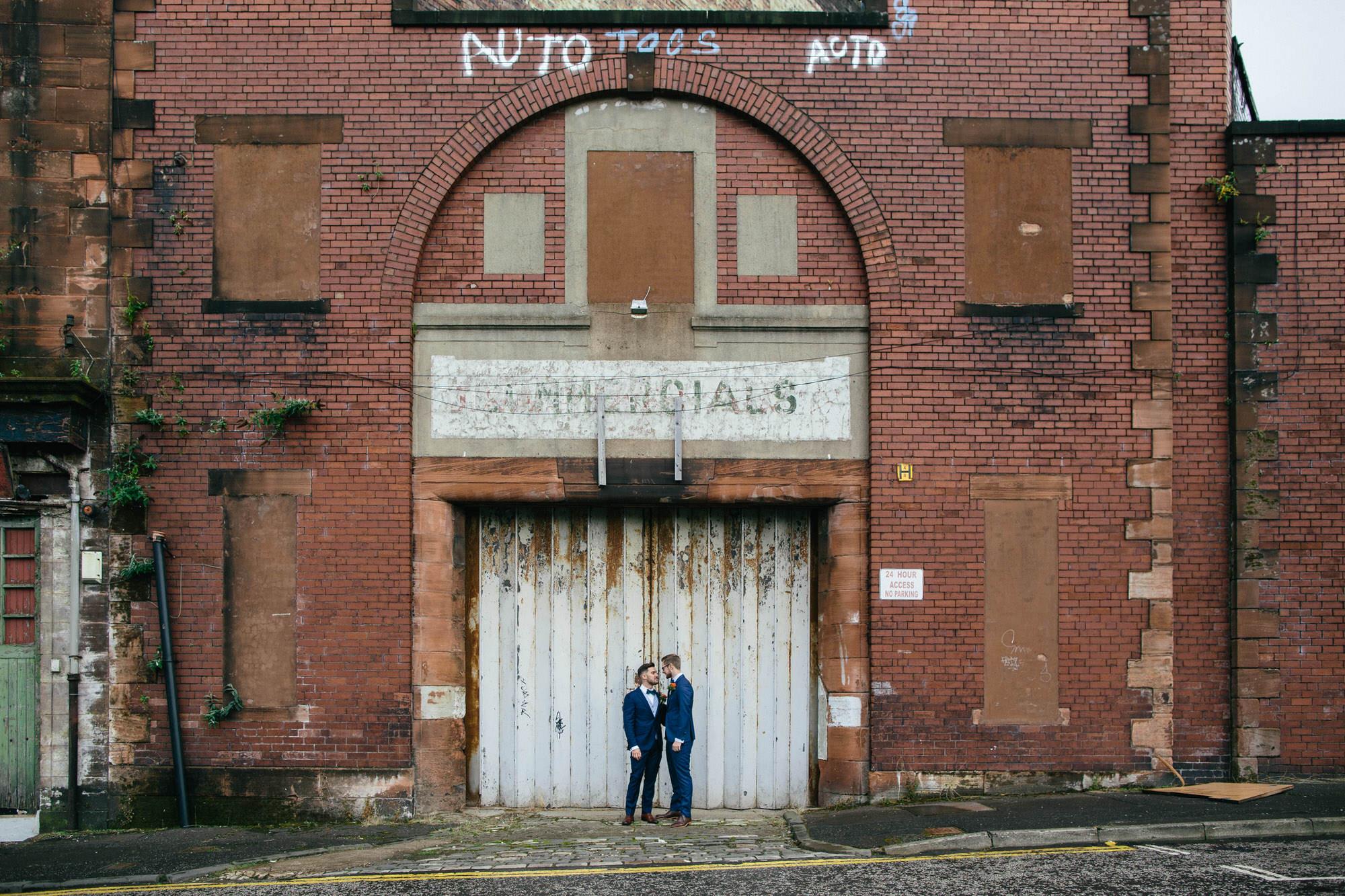 Alternative Same Sex Wedding Photography Scotland Glasgow Drygate 049.jpg
