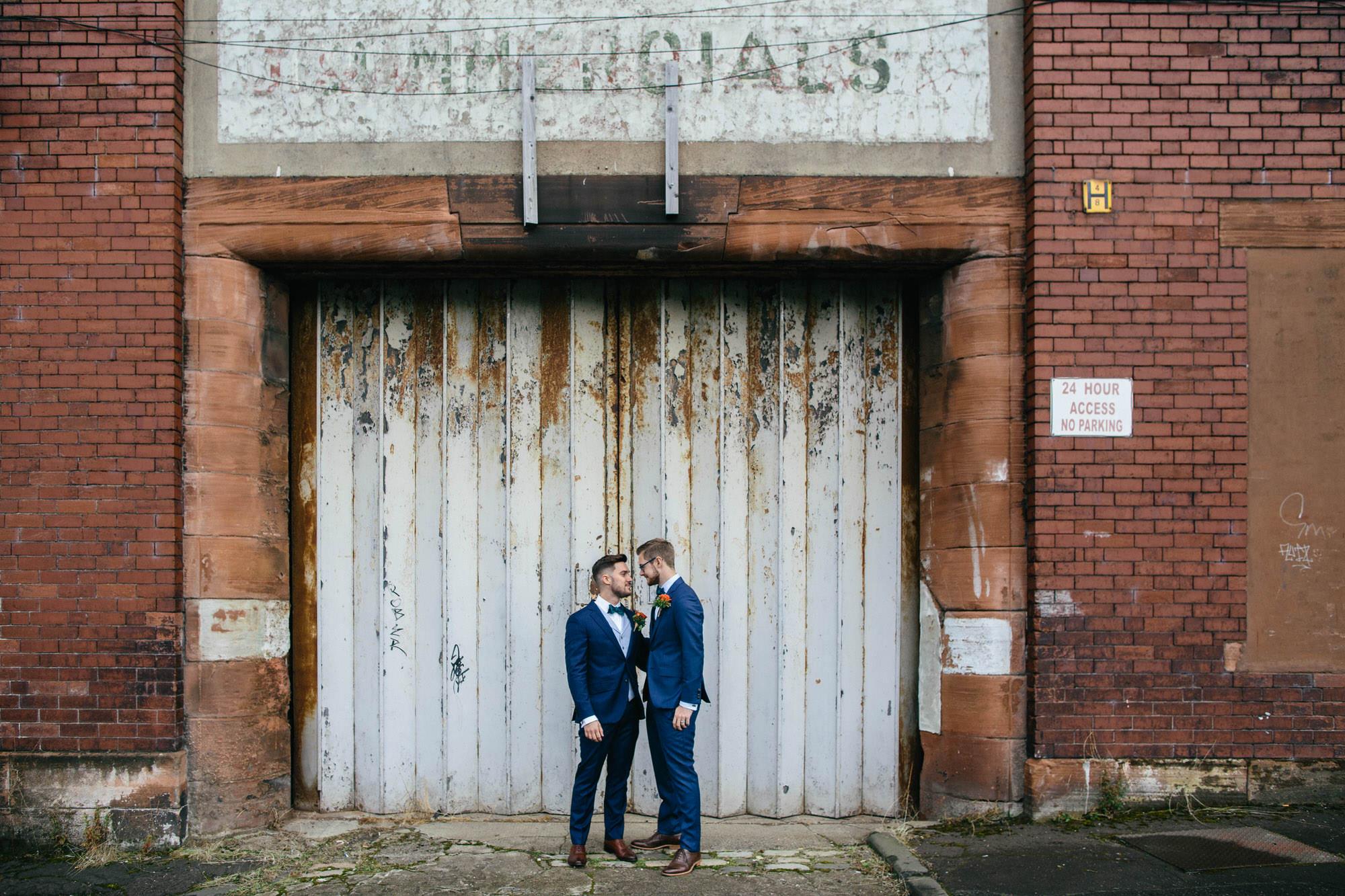 Alternative Same Sex Wedding Photography Scotland Glasgow Drygate 050.jpg