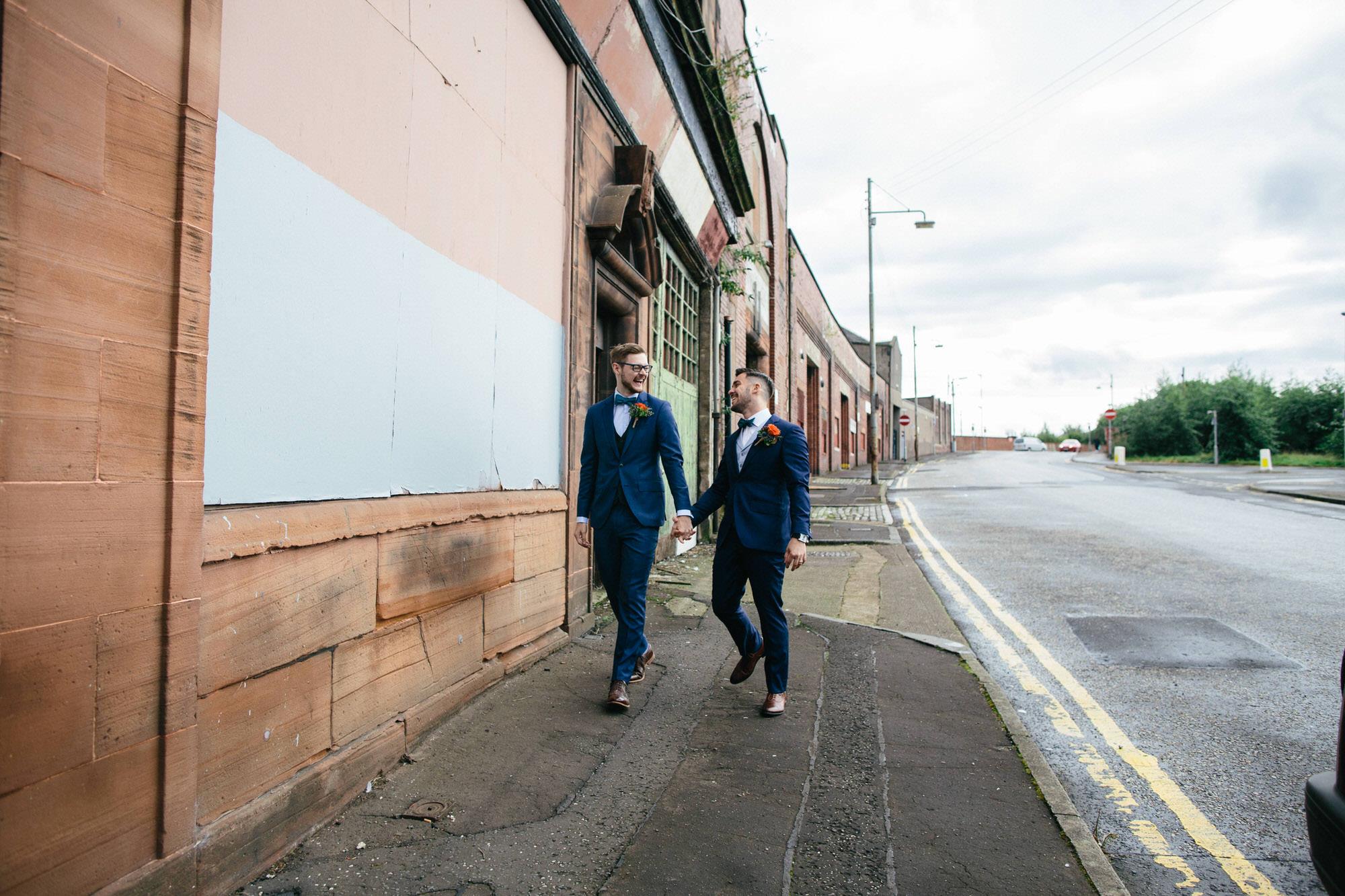 Alternative Same Sex Wedding Photography Scotland Glasgow Drygate 052.jpg