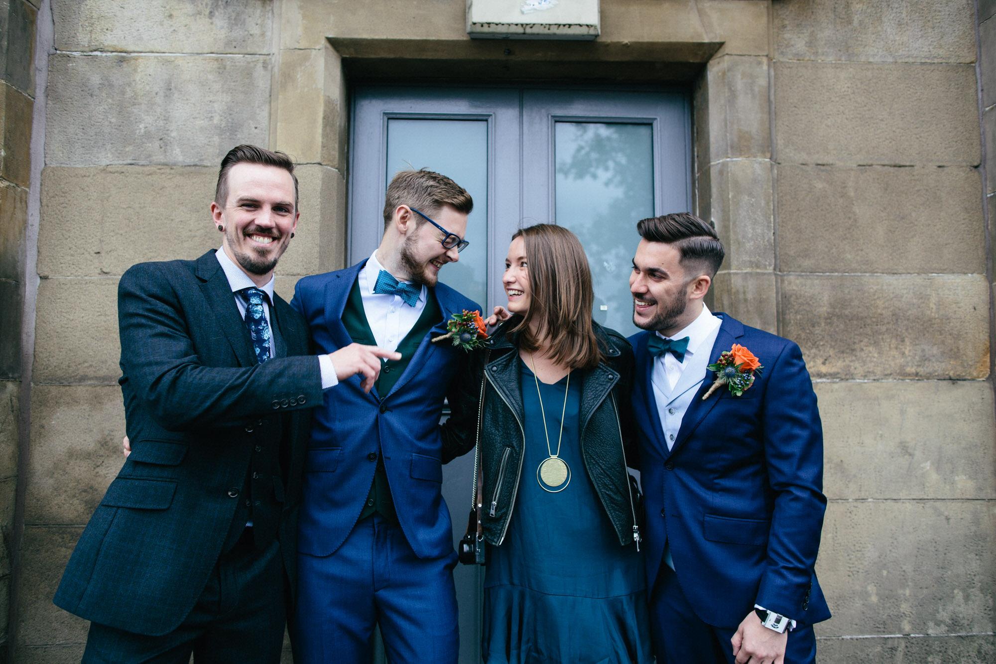 Alternative Same Sex Wedding Photography Scotland Glasgow Drygate 054.jpg