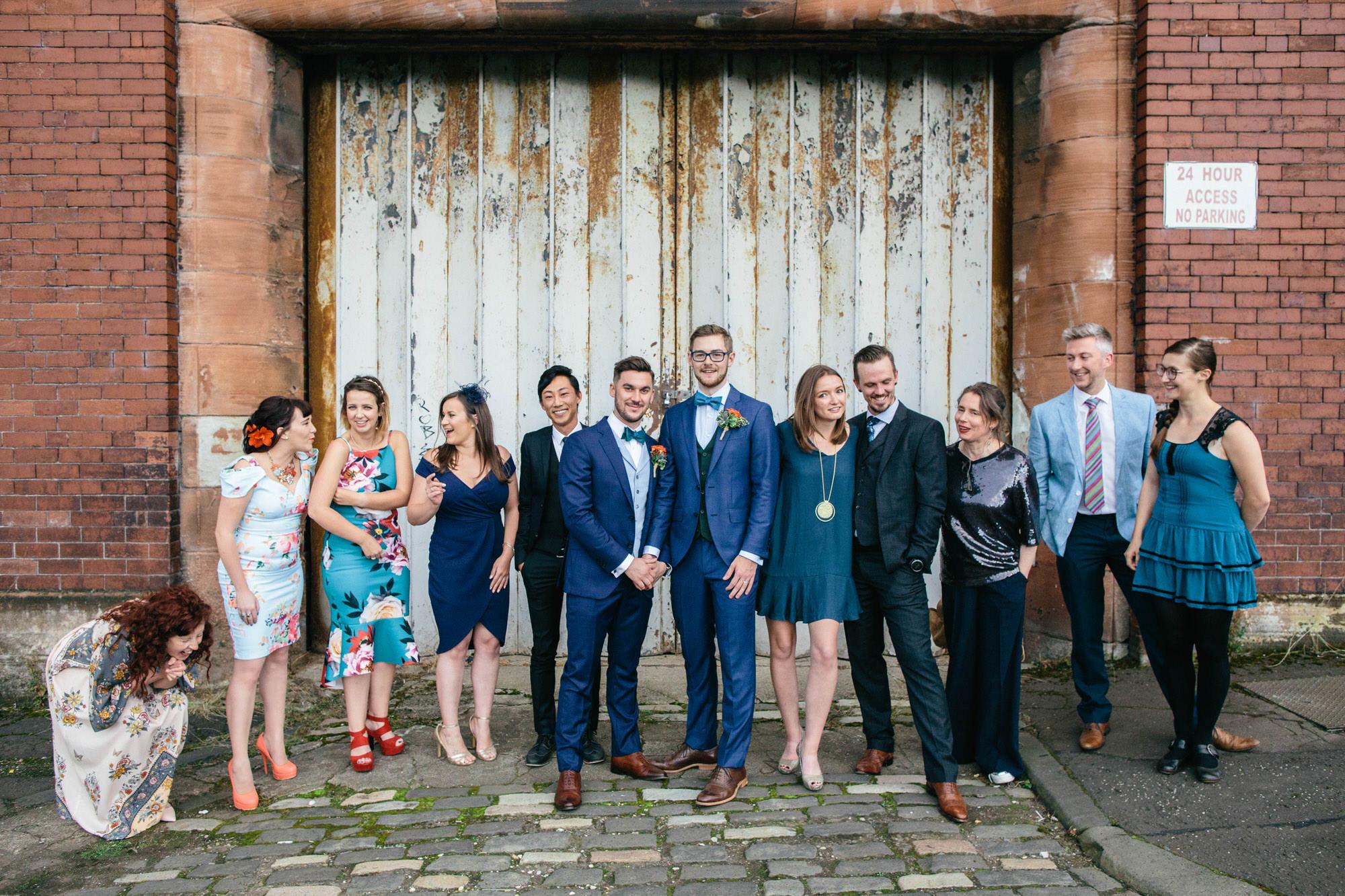 Alternative Same Sex Wedding Photography Scotland Glasgow Drygate 106.jpg