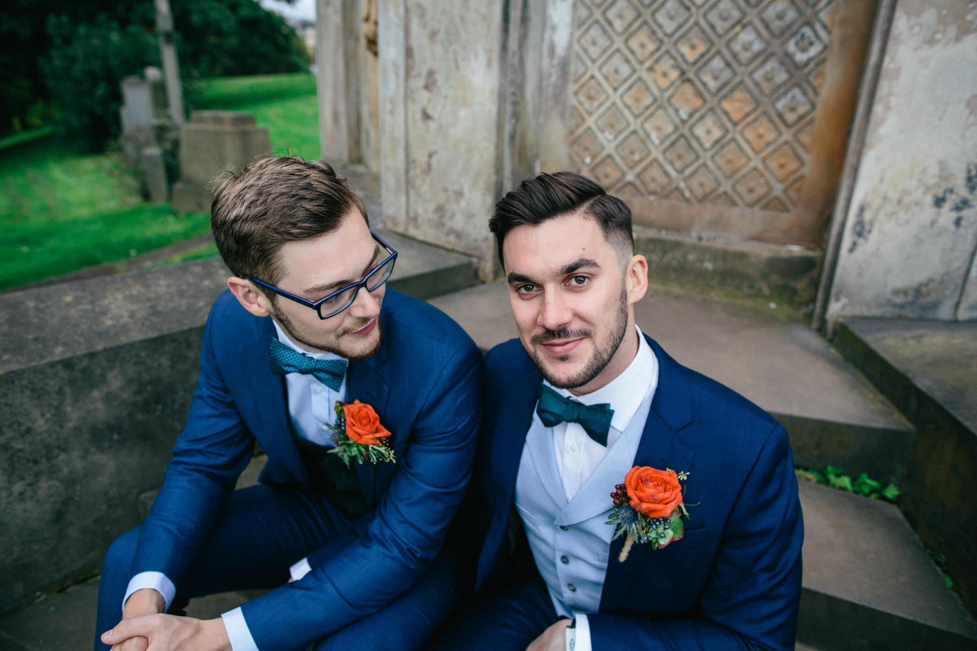 Alternative Same Sex Wedding Photography Scotland Glasgow Drygate 107.jpg