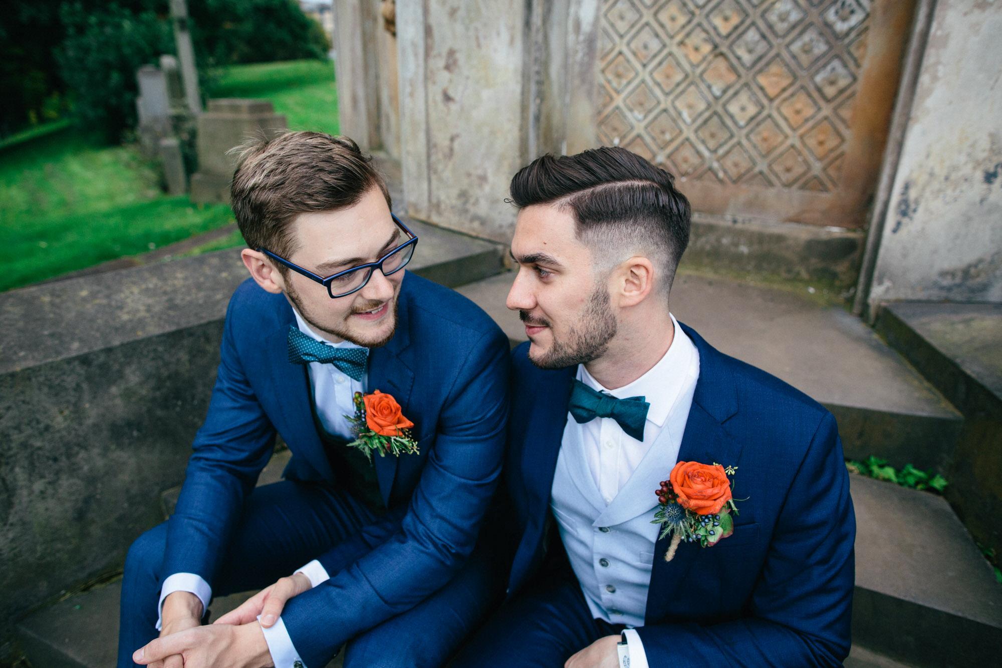 Alternative Same Sex Wedding Photography Scotland Glasgow Drygate 108.jpg