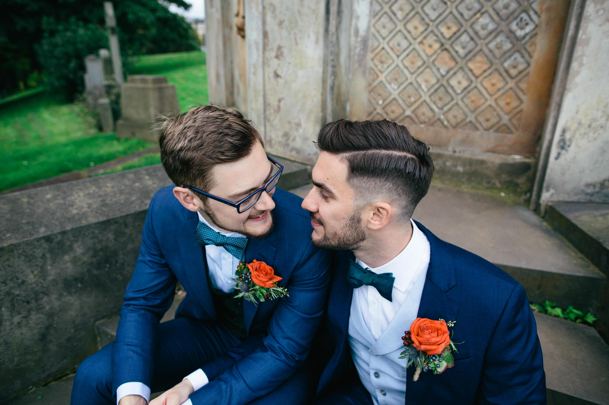 Alternative Same Sex Wedding Photography Scotland Glasgow Drygate 109.jpg