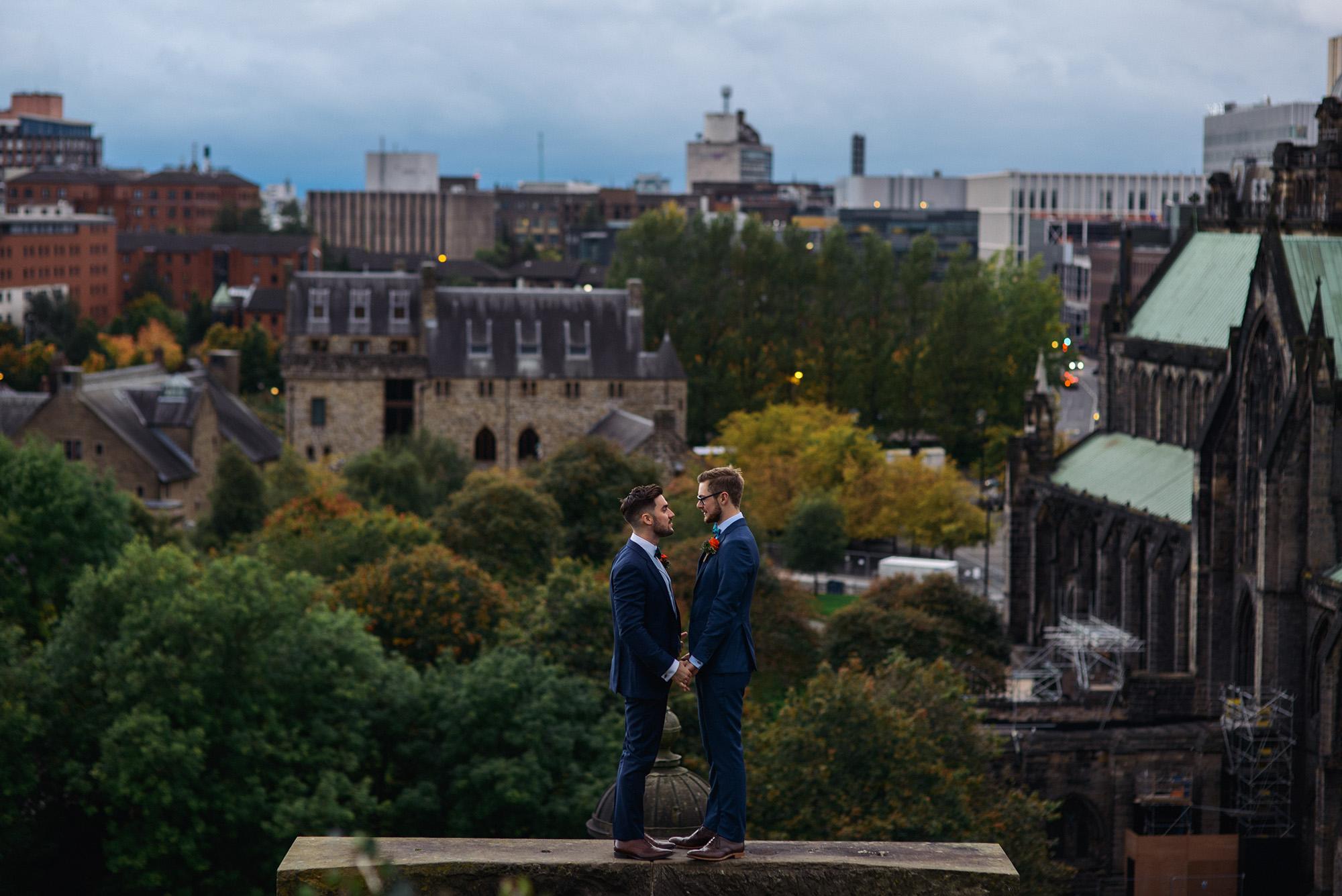 Alternative Same Sex Wedding Photography Scotland Glasgow Drygate 117.jpg