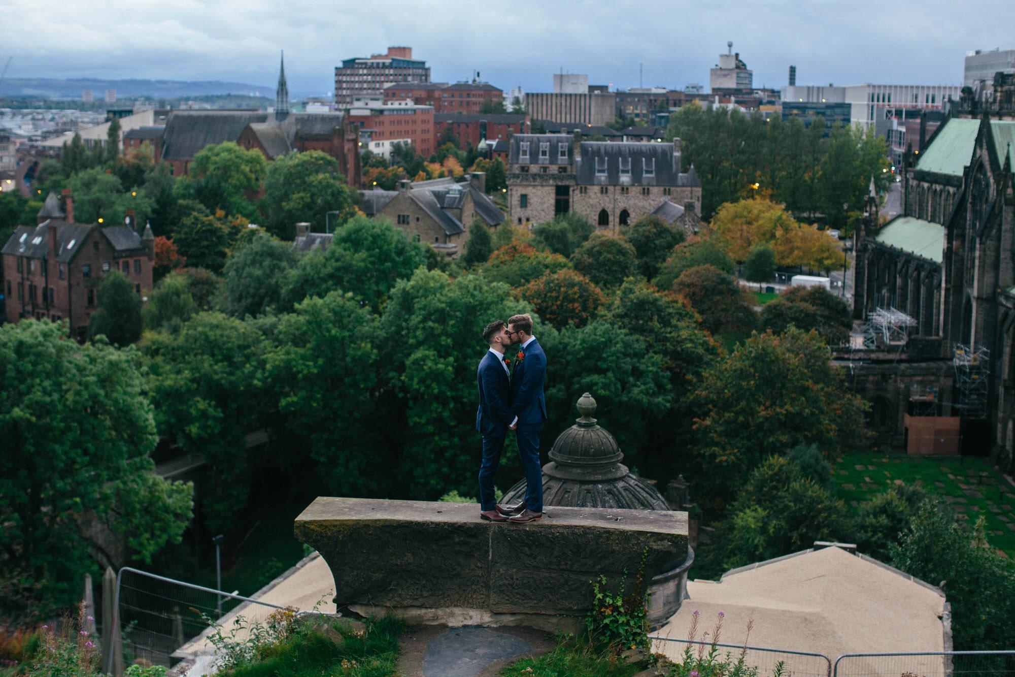 Alternative Same Sex Wedding Photography Scotland Glasgow Drygate 120.jpg