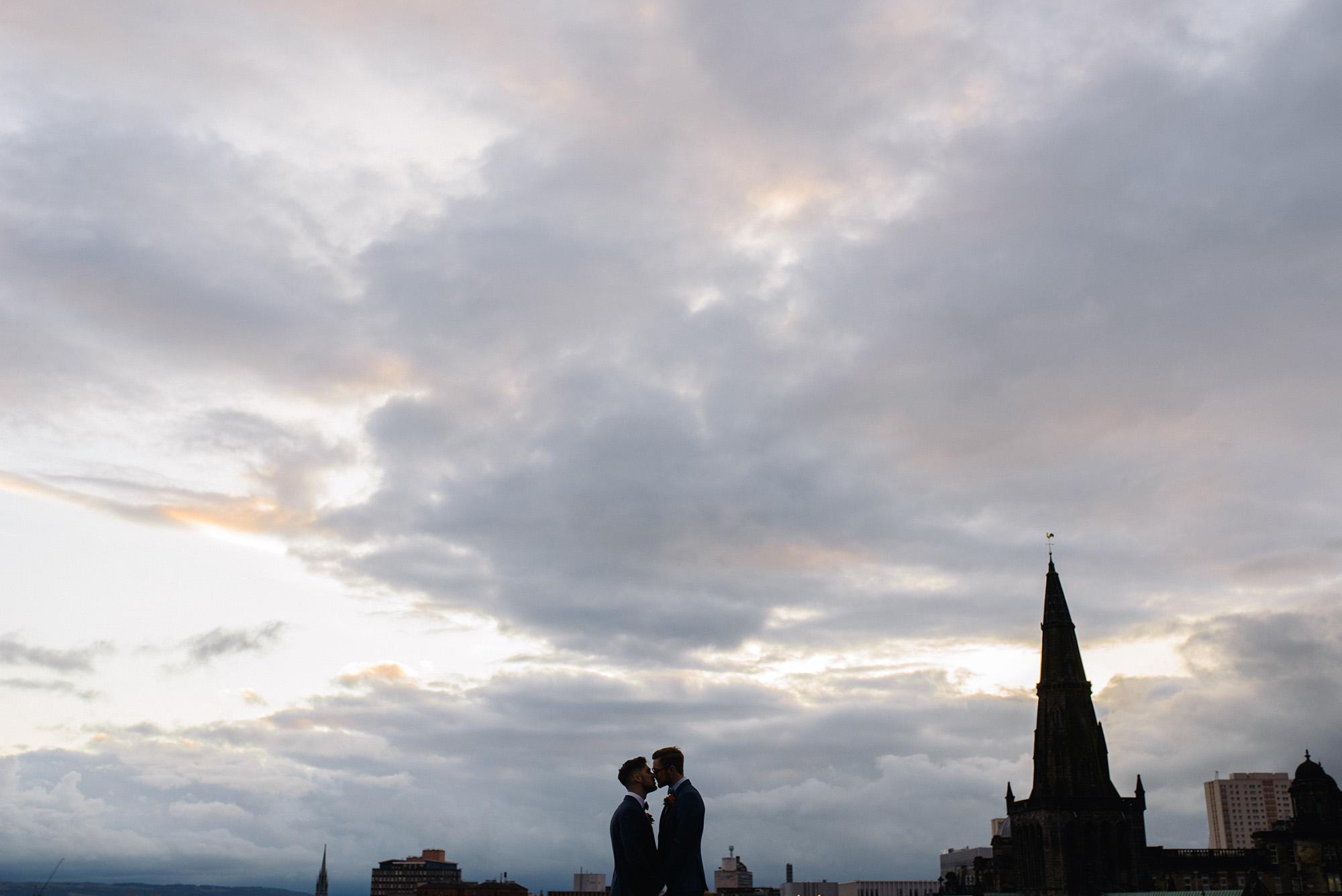 Alternative Same Sex Wedding Photography Scotland Glasgow Drygate 121.jpg
