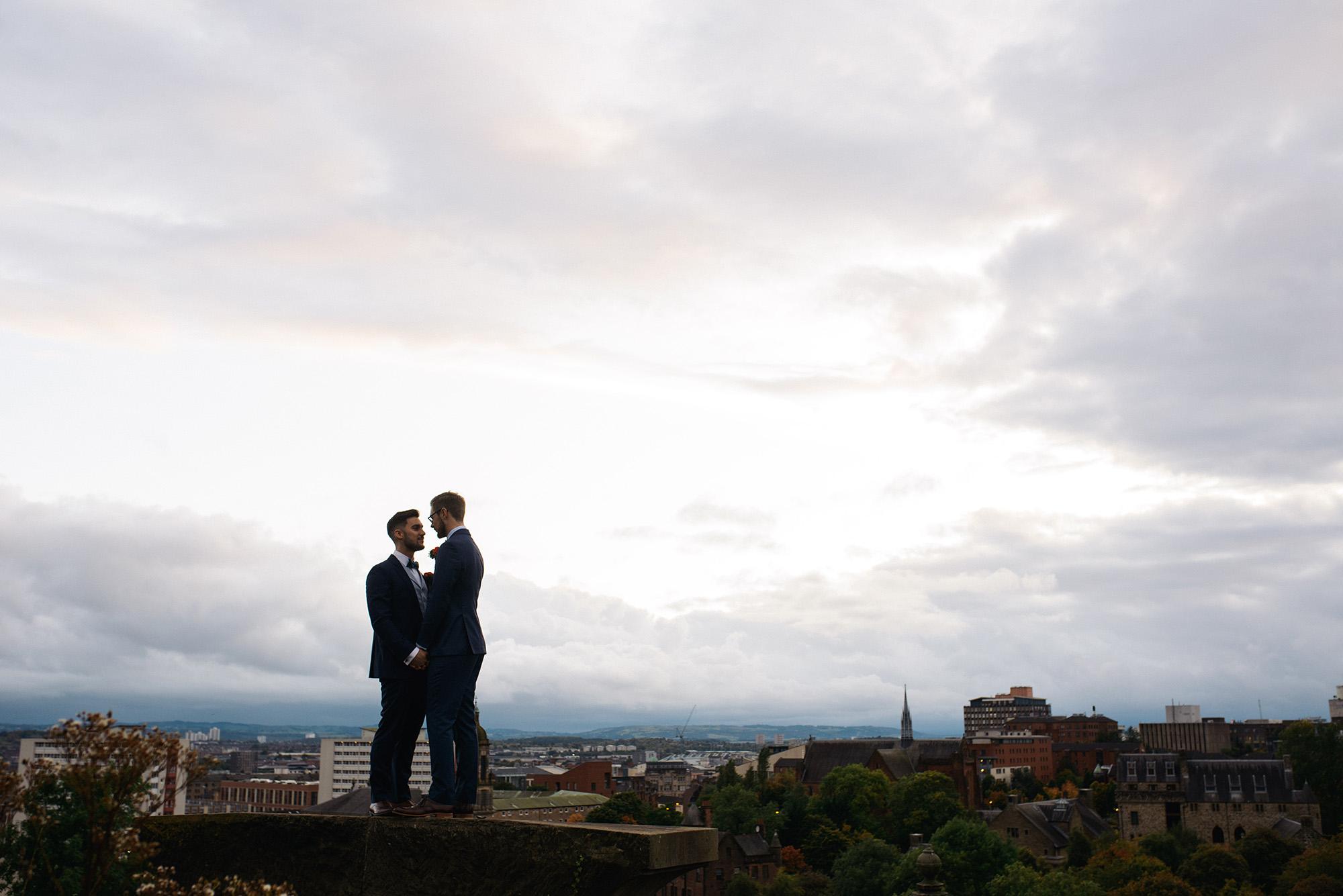 Alternative Same Sex Wedding Photography Scotland Glasgow Drygate 124.jpg