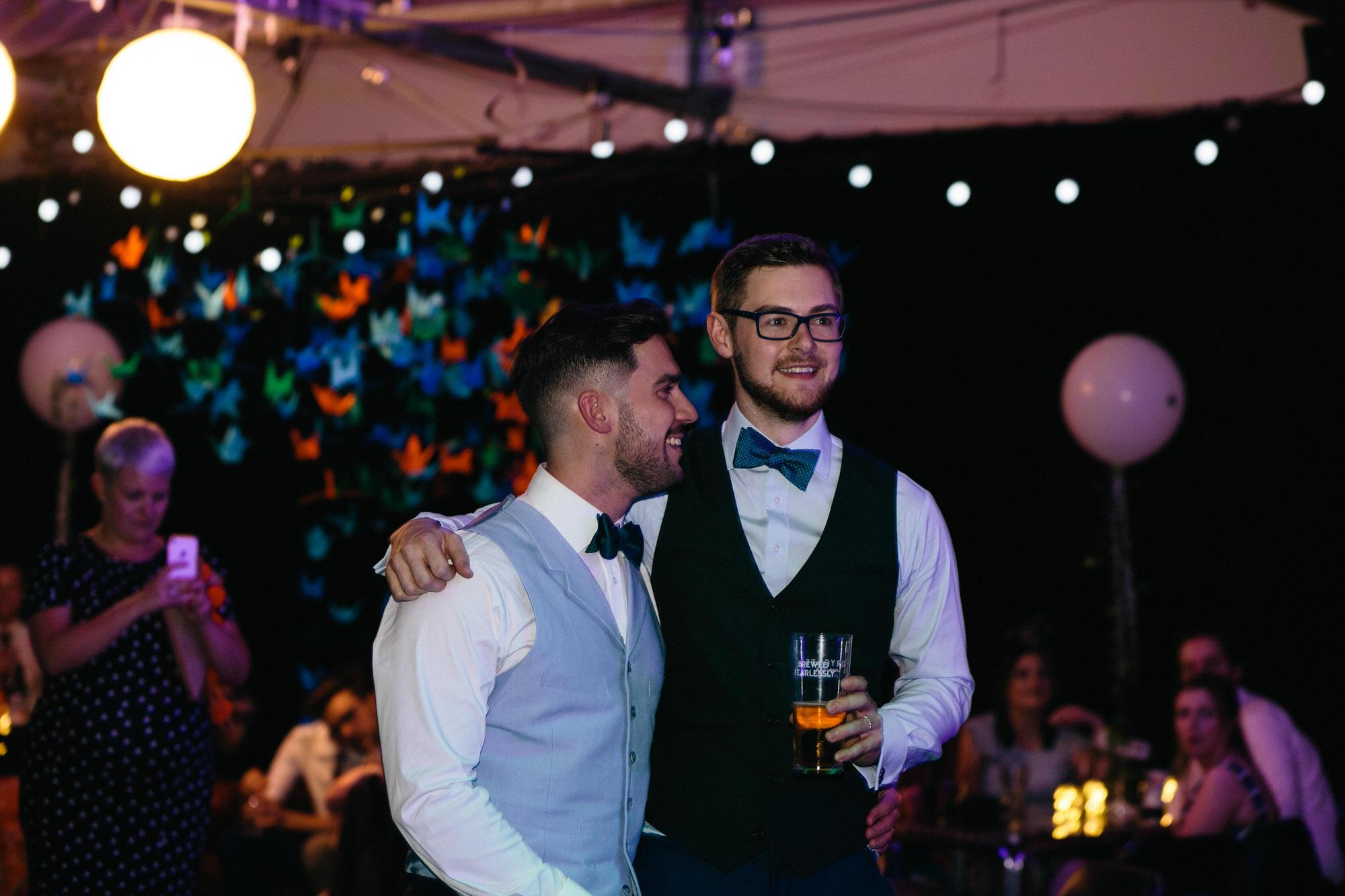 Alternative Same Sex Wedding Photography Scotland Glasgow Drygate 151.jpg