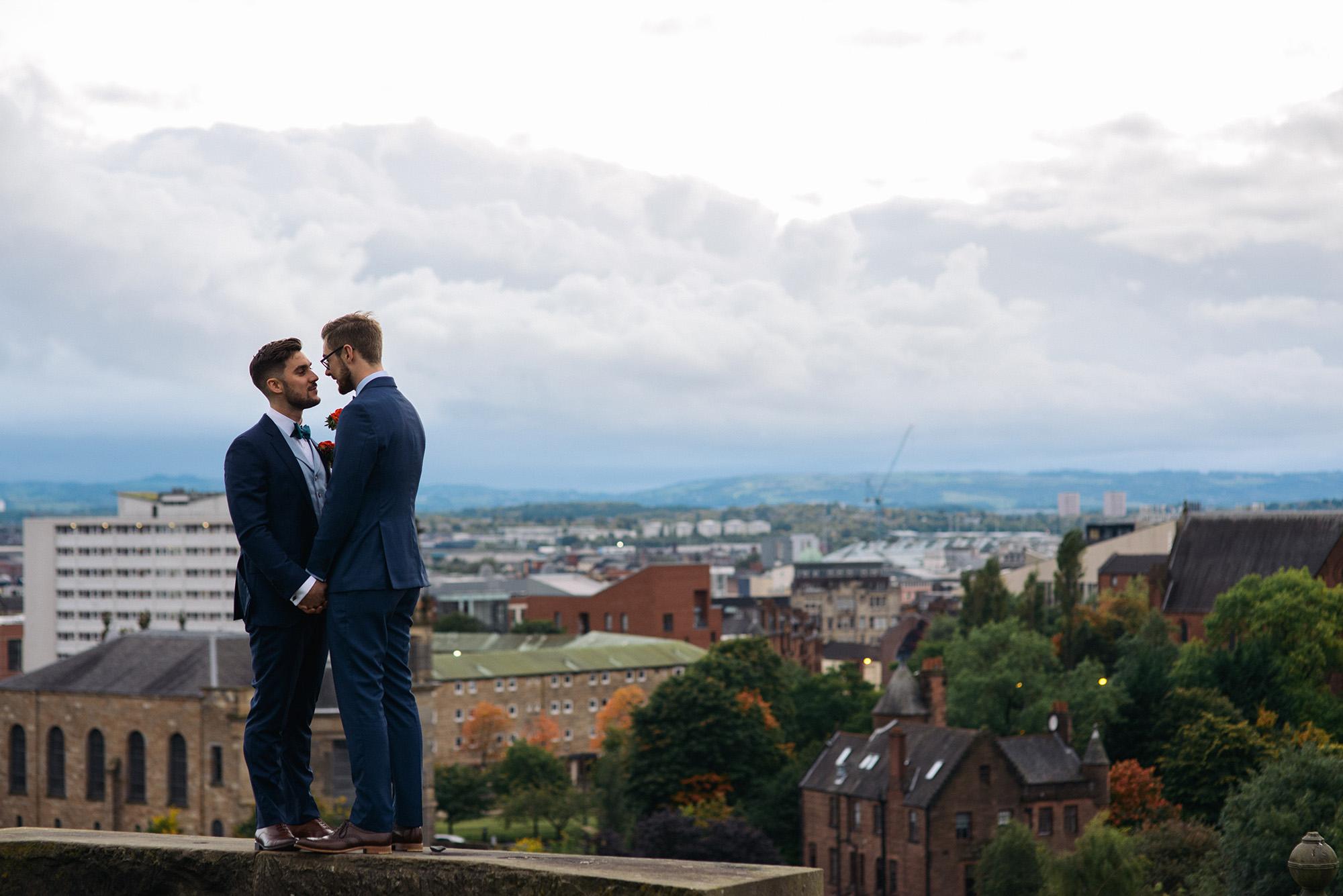 Alternative Same Sex Wedding Photography Scotland Glasgow Drygate 123.jpg