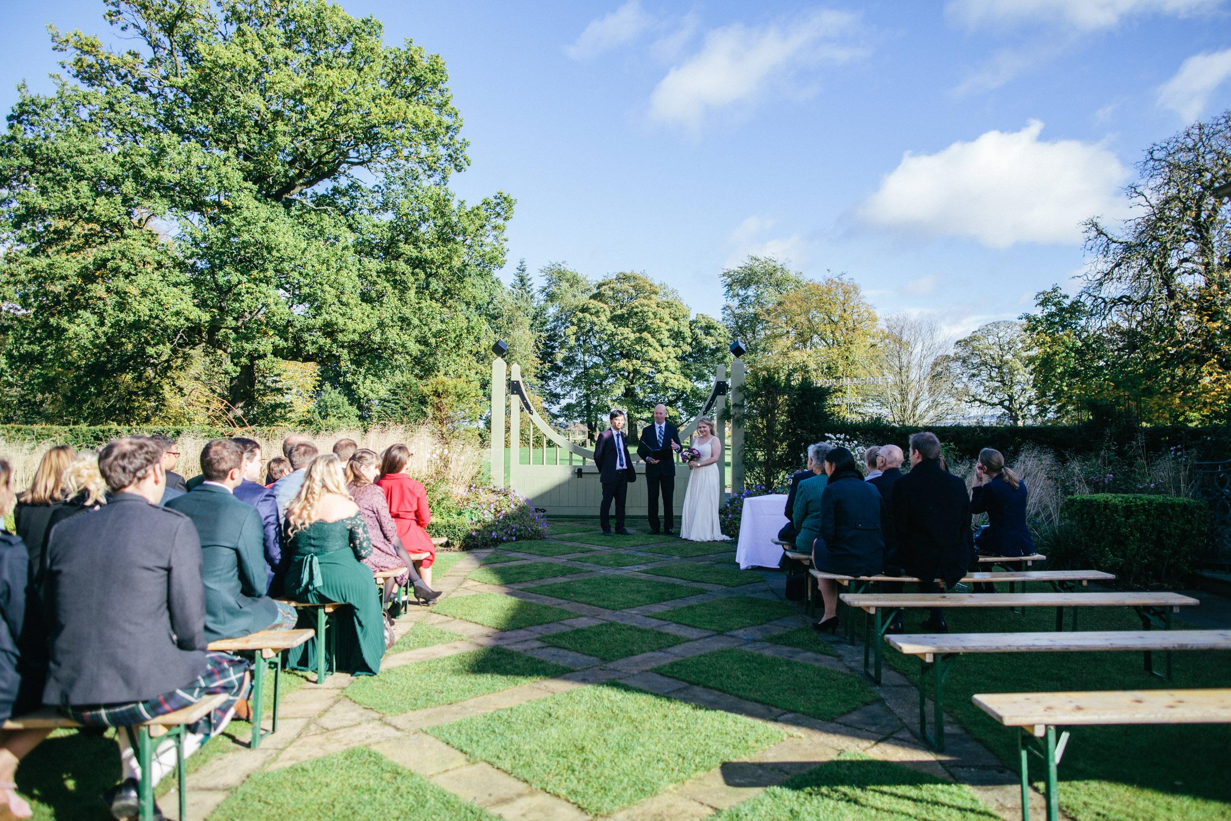 Quirky Wedding Photographer Edinburgh Jupiter Artland -15.jpg