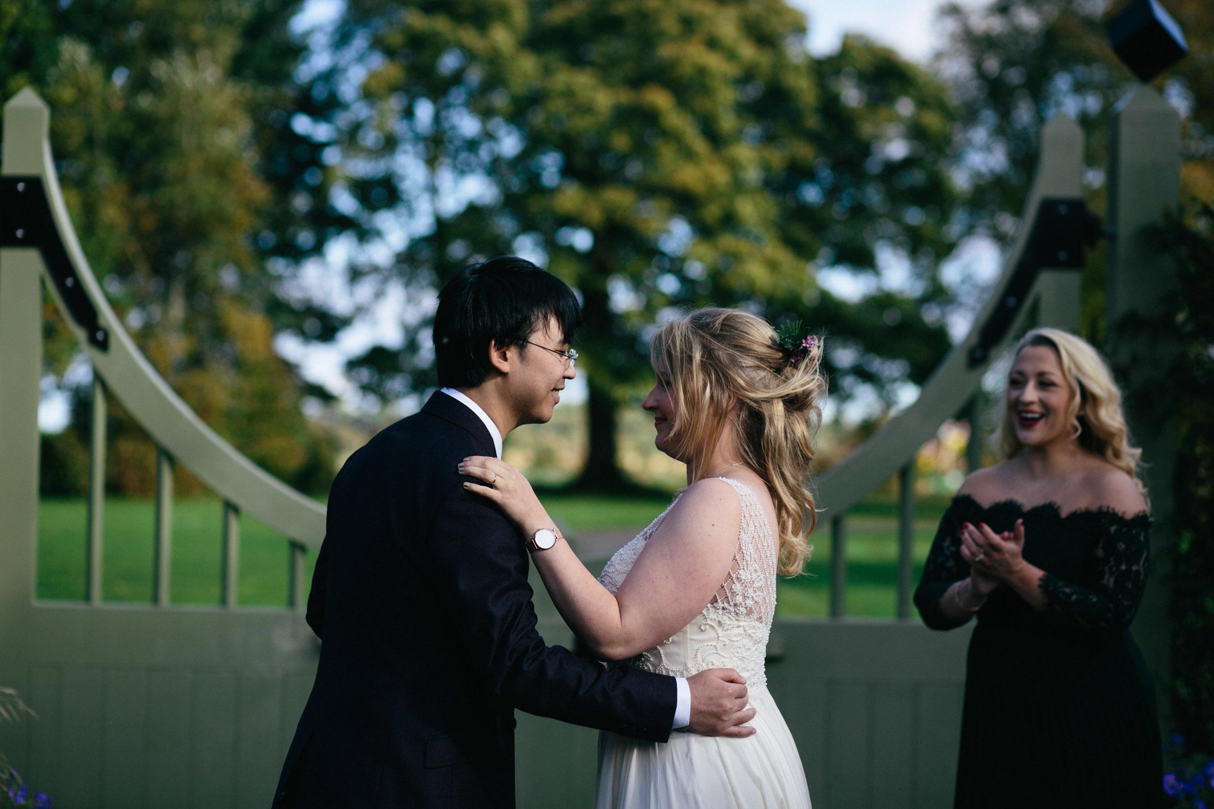Quirky Wedding Photographer Edinburgh Jupiter Artland -22.jpg