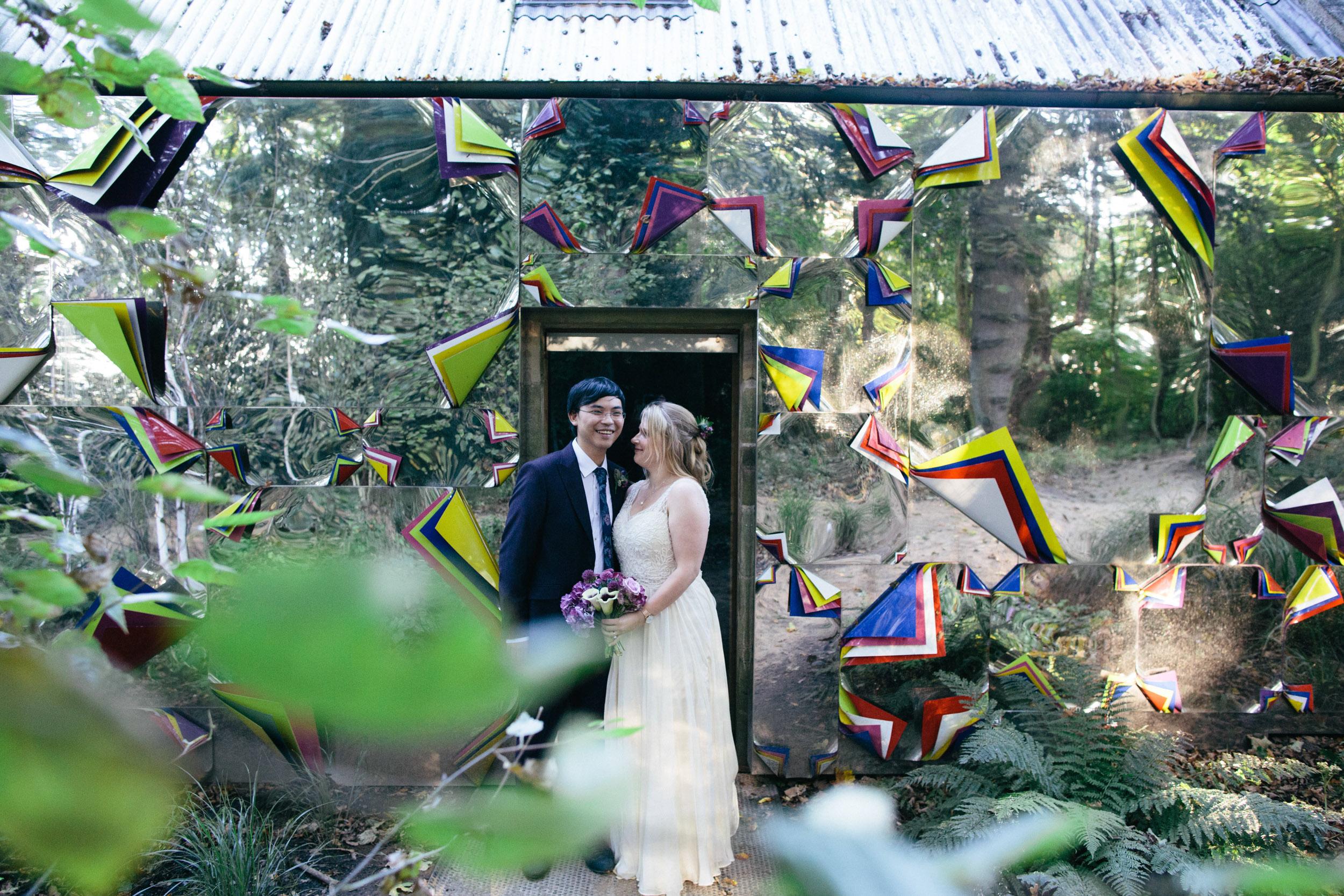 Quirky Wedding Photographer Edinburgh Jupiter Artland -36.jpg
