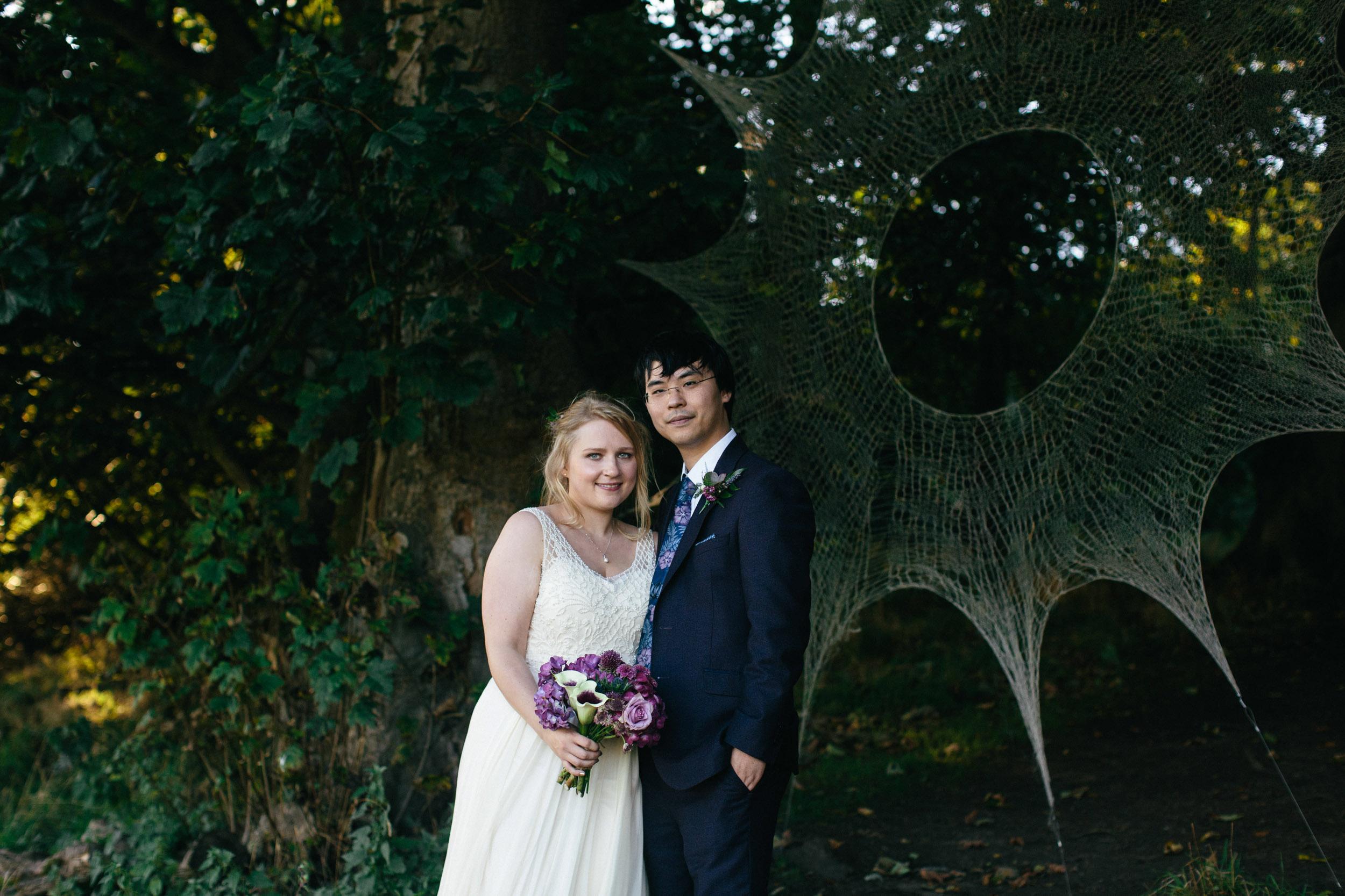 Quirky Wedding Photographer Edinburgh Jupiter Artland -57.jpg