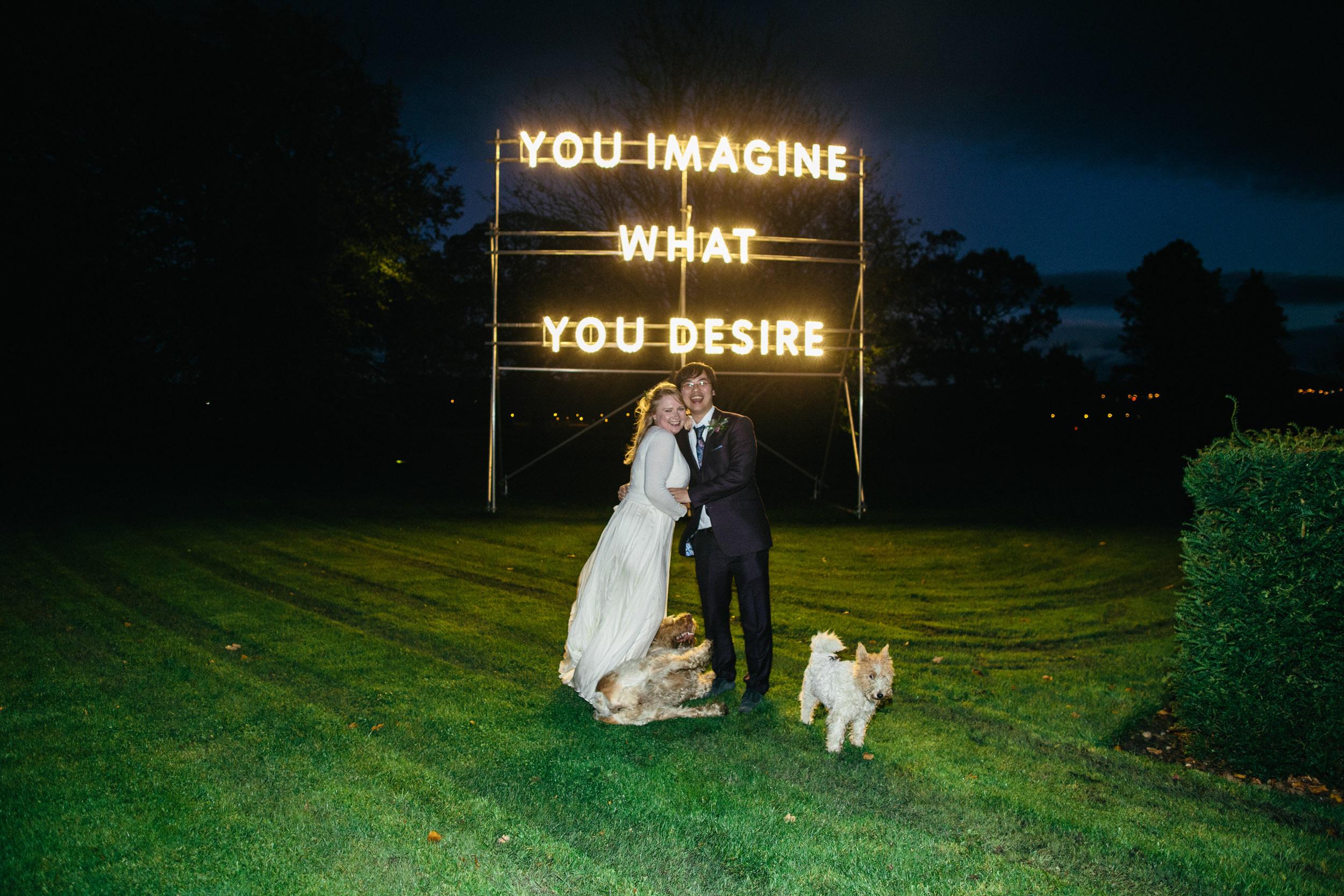 Quirky Wedding Photographer Edinburgh Jupiter Artland -91.jpg