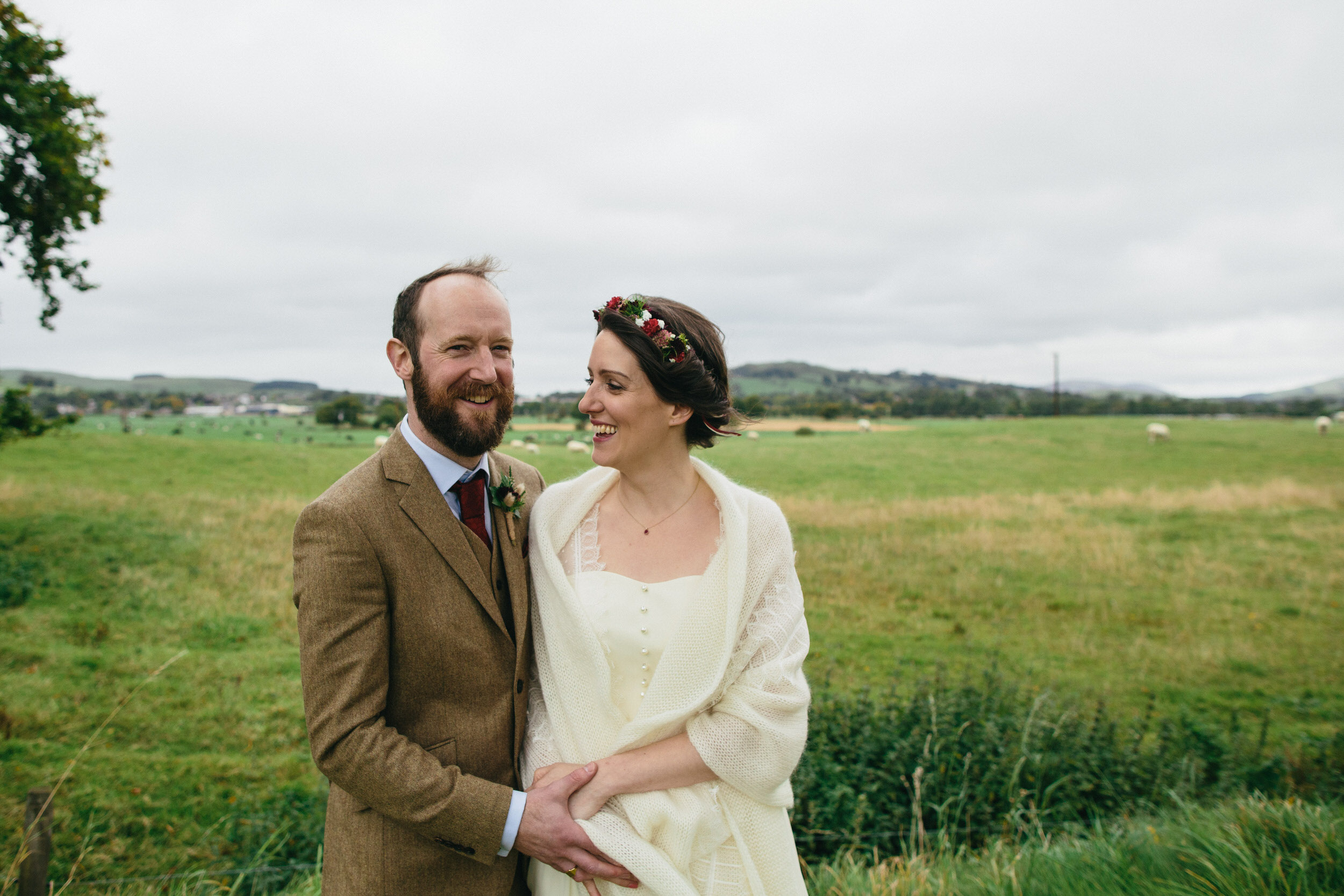 Quirky Wedding Photography Scotland Borders Biggar Hartree 056.jpg