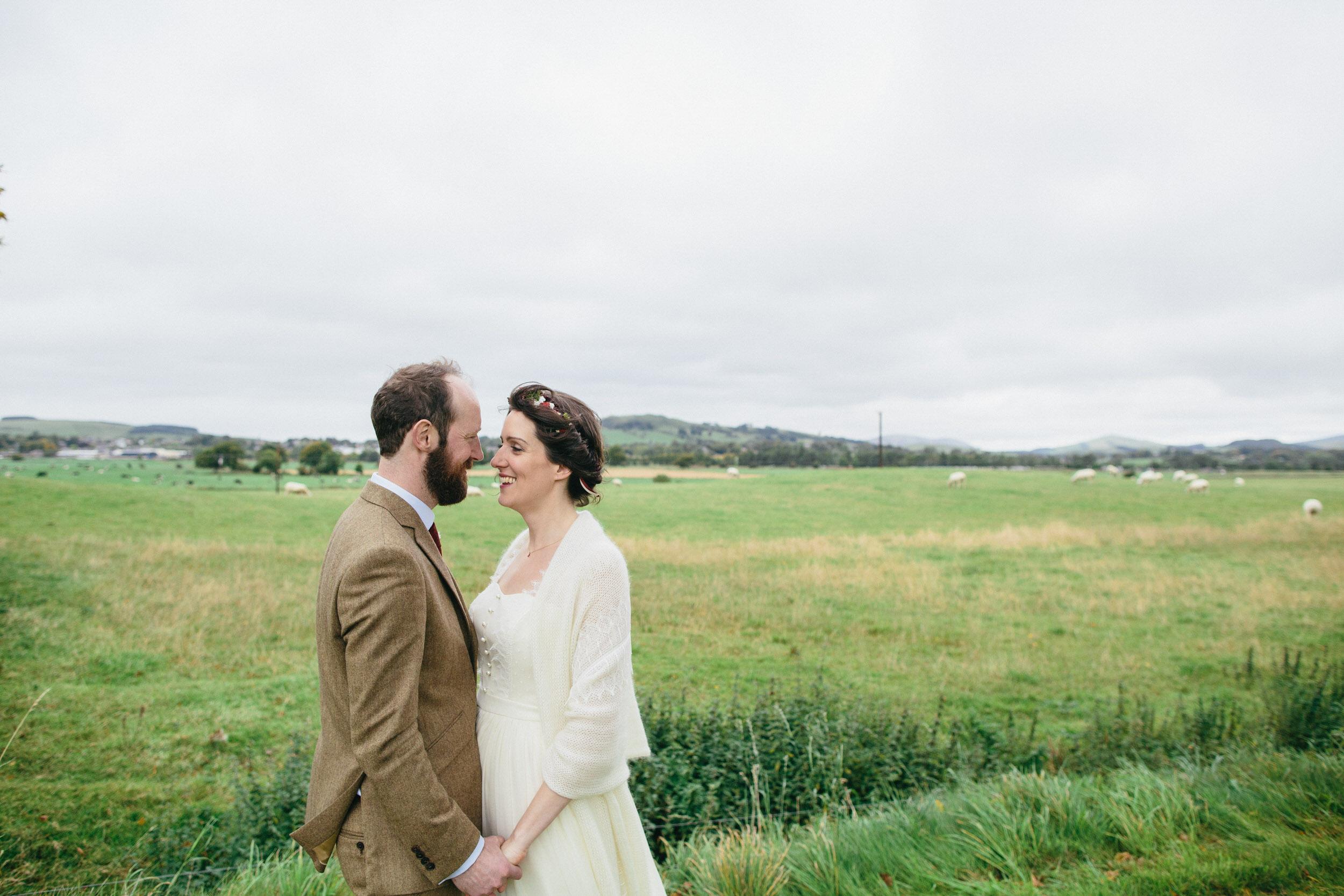 Quirky Wedding Photography Scotland Borders Biggar Hartree 057.jpg