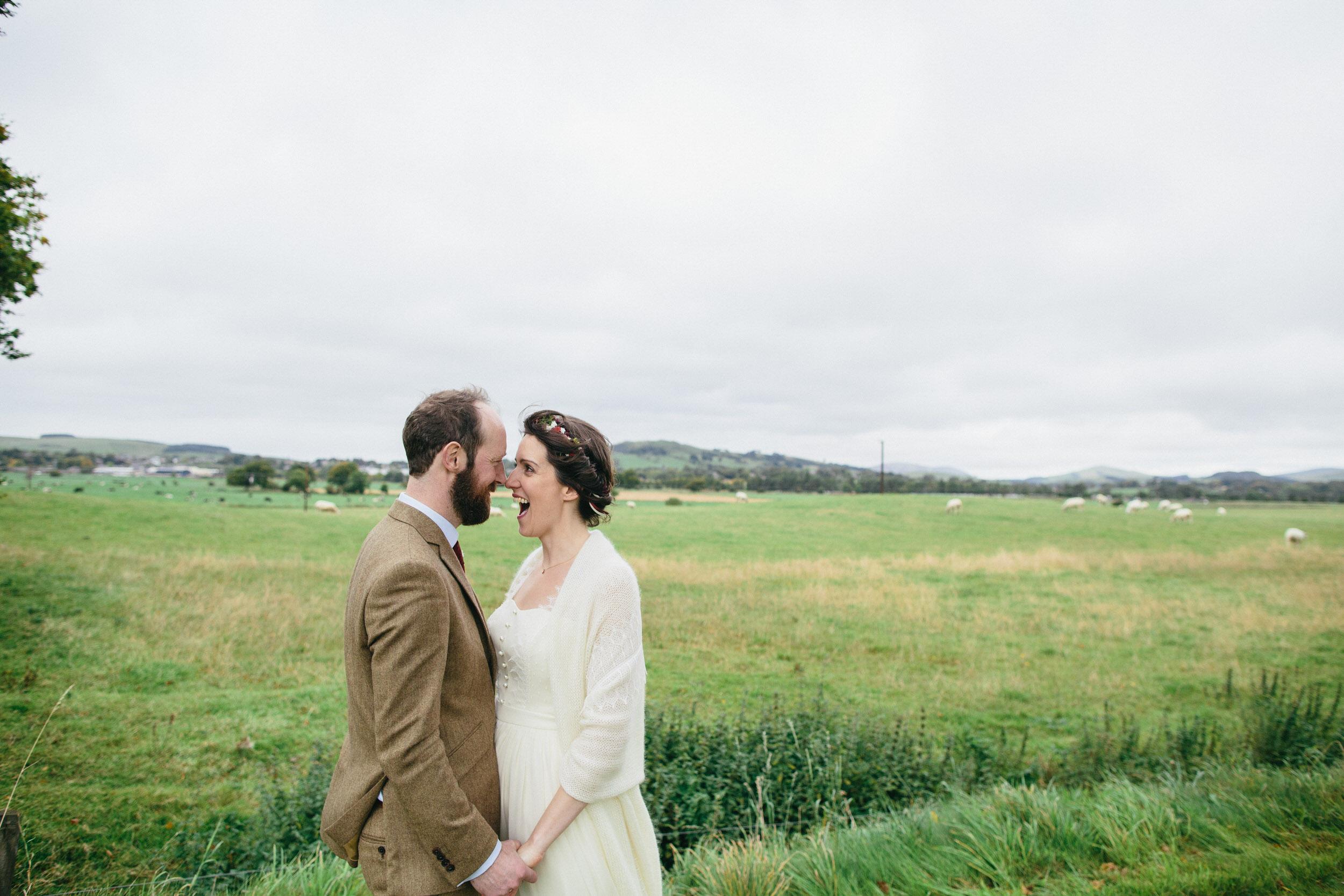 Quirky Wedding Photography Scotland Borders Biggar Hartree 058.jpg