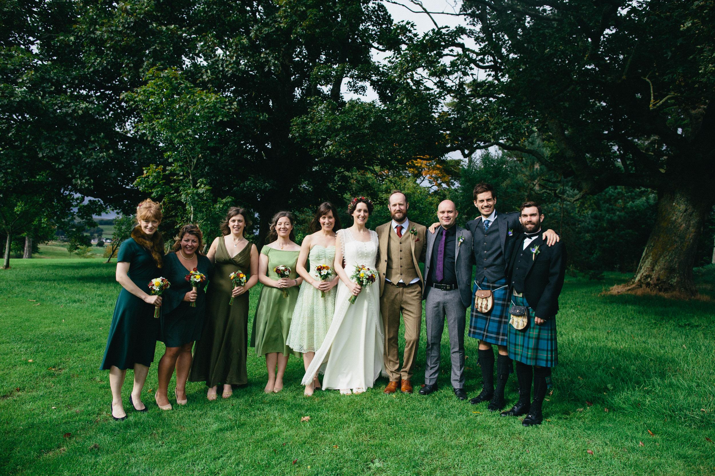 Quirky Wedding Photography Scotland Borders Biggar Hartree 074.jpg
