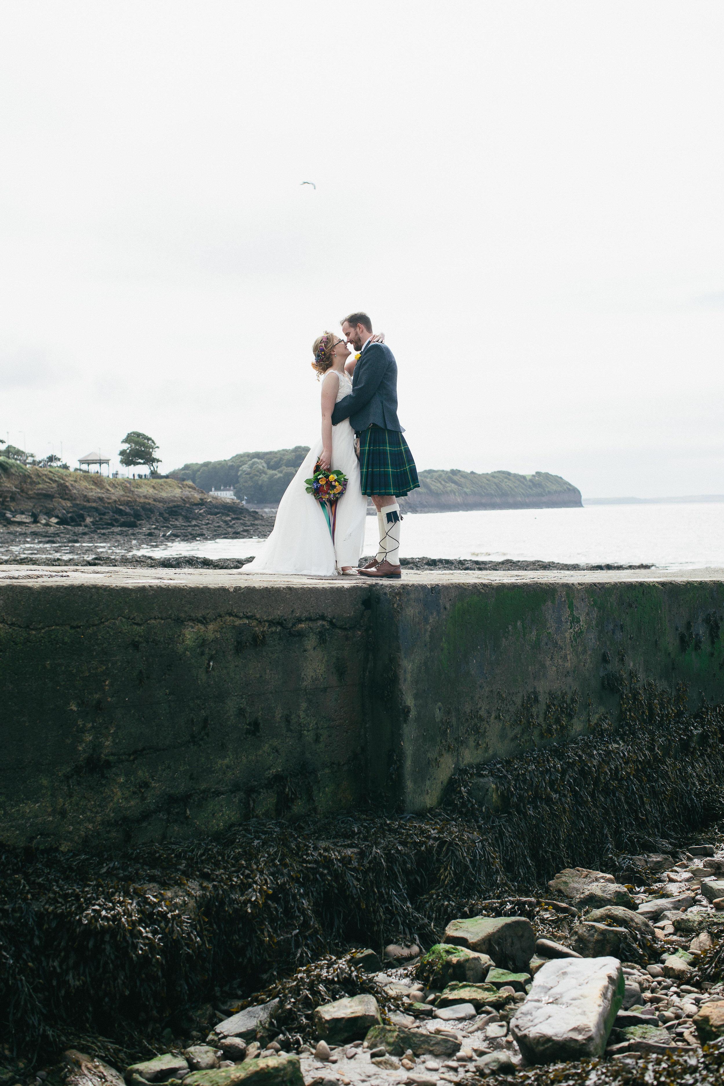 Quirky Wedding Photographer Scotland Glasgow Edinburgh Mirrorbox 110.jpg
