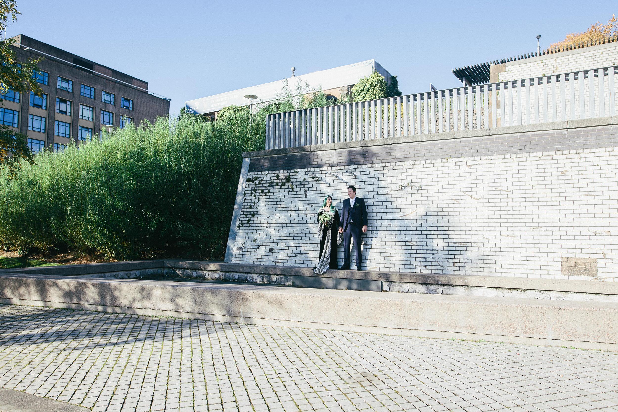 Quirky Wedding Photographer Scotland Glasgow Edinburgh Mirrorbox 146.jpg