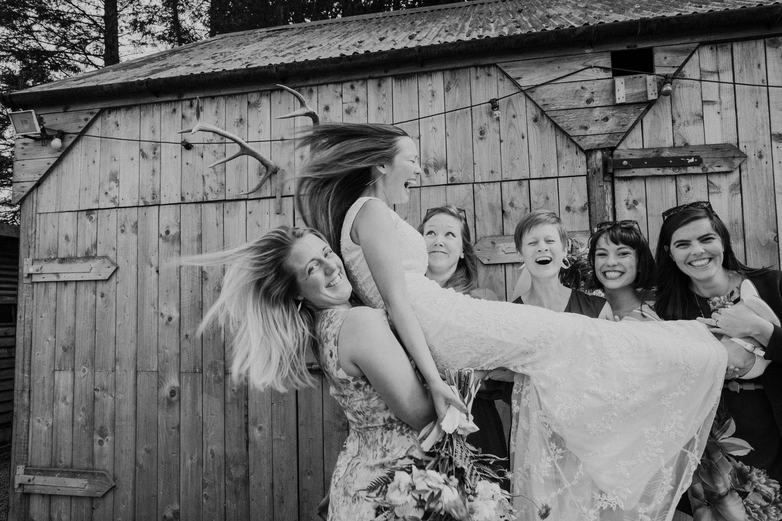Quirky Wedding Photographer Scotland Glasgow Edinburgh Mirrorbox 188.jpg