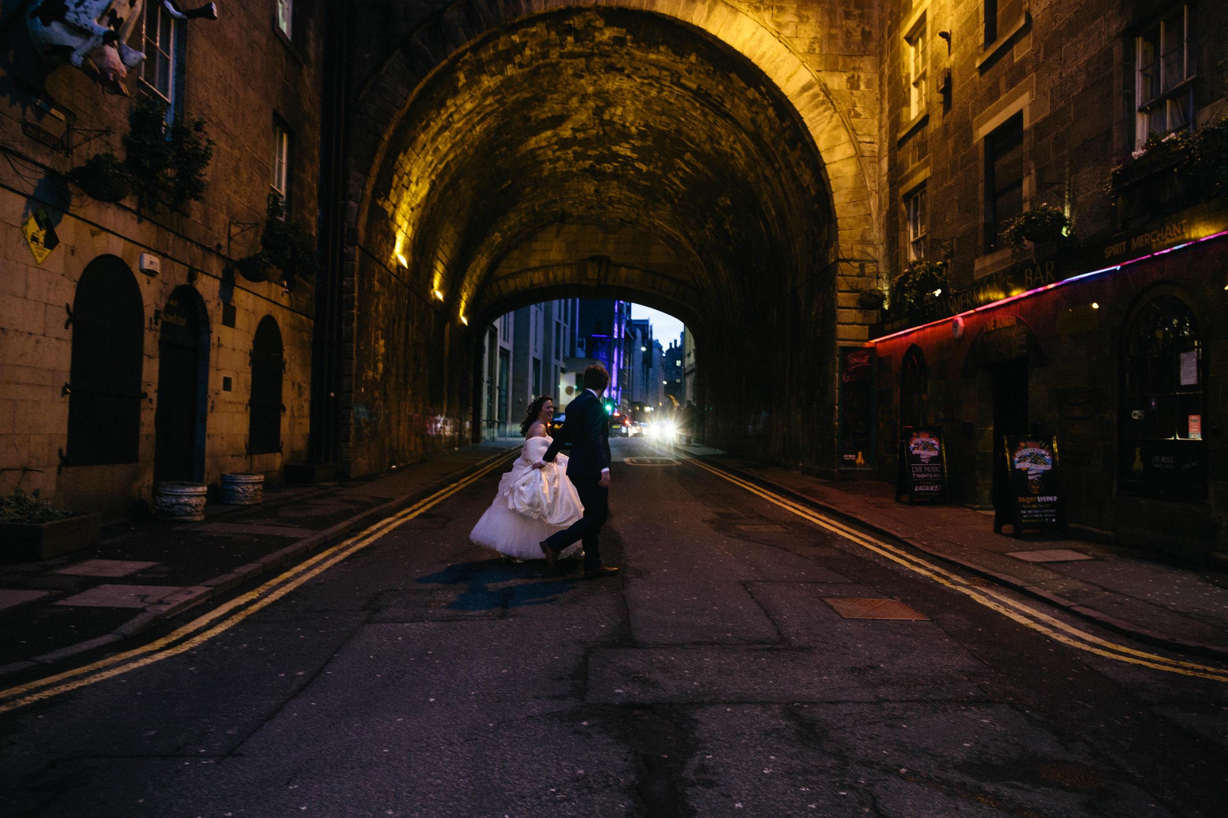 Quirky Wedding Photographer Scotland Glasgow Edinburgh Mirrorbox 218.jpg
