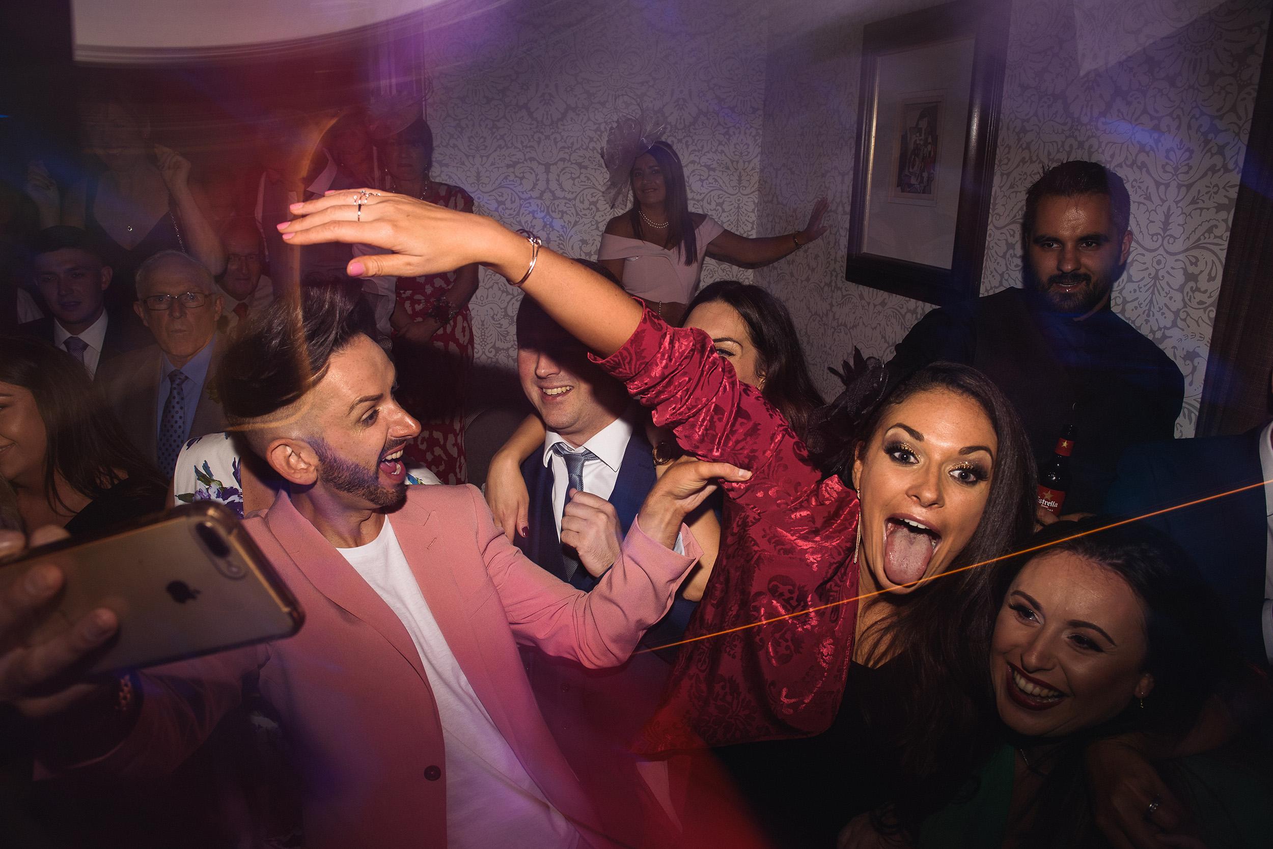 Quirky Wedding Photographer Scotland Glasgow Edinburgh Mirrorbox 238.jpg