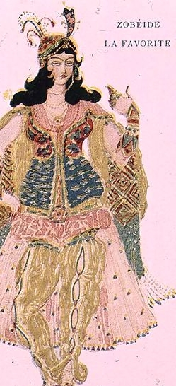 Zobeide,-The-Favourite-Concubine-And-Leader-Of-The-Harem-Of-Shariar,-Costume-Design-For-Diaghilev$27s-Production-Of-The-Ballet-$27scheherazade$27,-1910.jpg