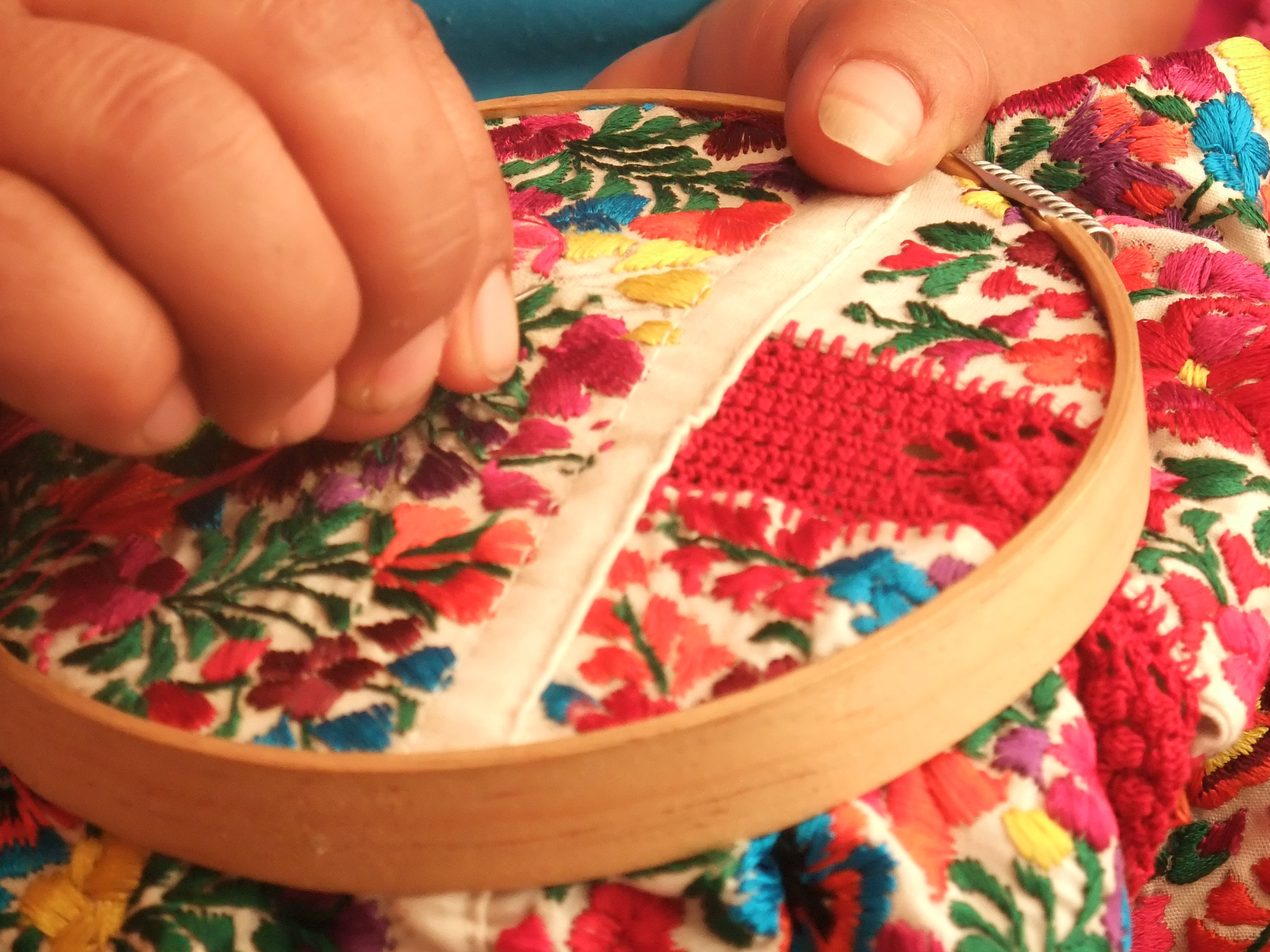Embroideries showcasing the diversity of Mexican Culture in Sharjah