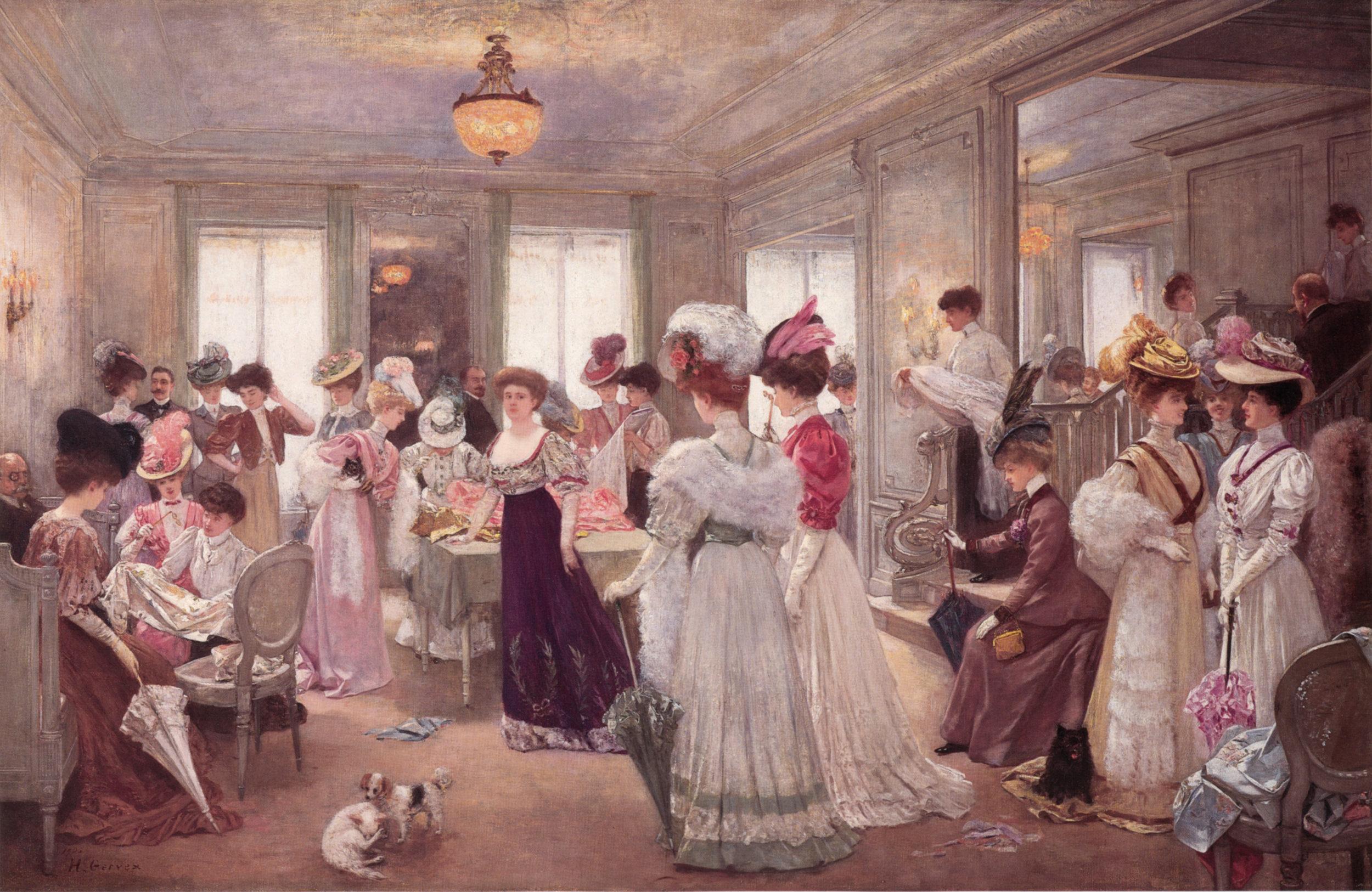 Five Hours at Maison Paquin, Henri Gervex, 1906