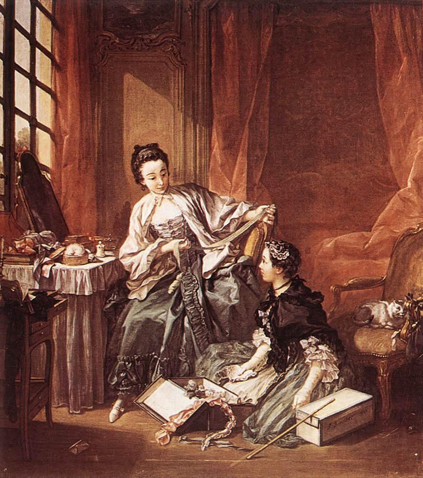 La Toilette, François Boucher, 1746