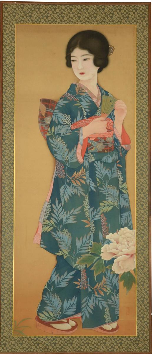 Bijin-ga, Taisho, circa 1920