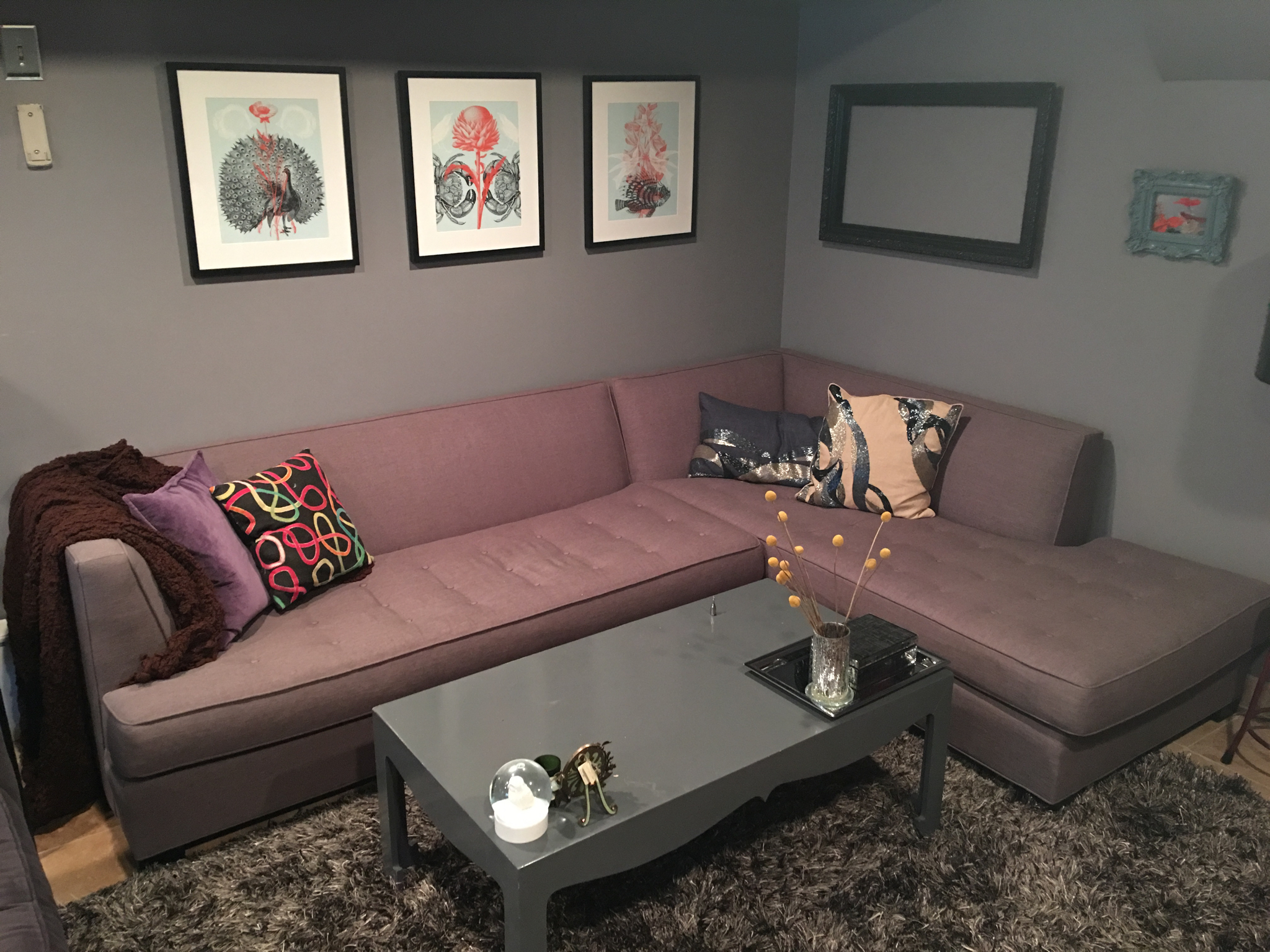 Mitchell Gold and Bob Williams Sectional - $1500