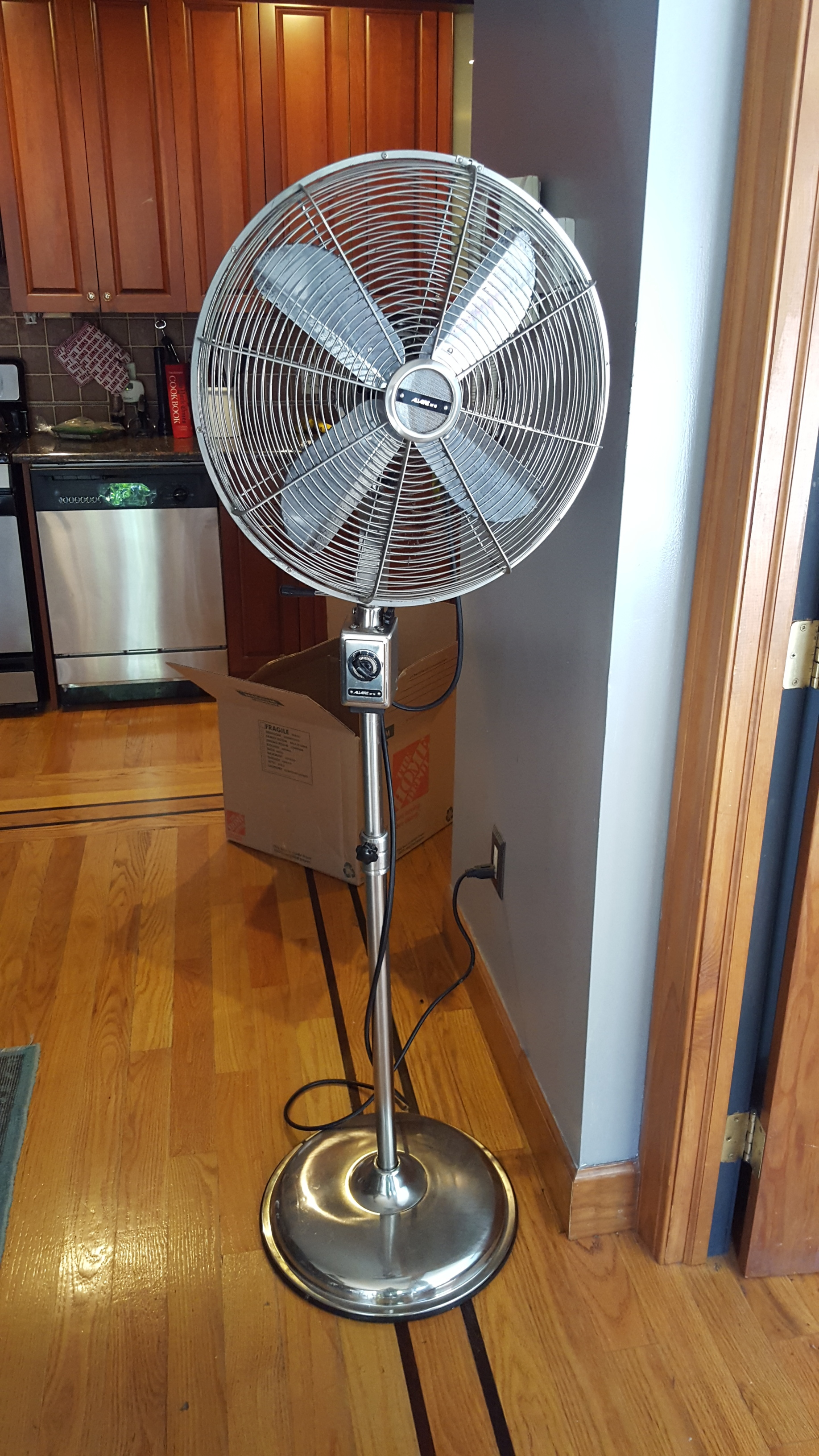 Restoration Hardware Upright Fan - $50