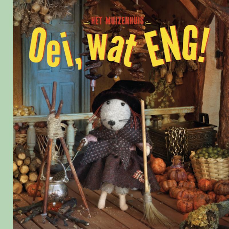 Cover 'Oei, wat eng!'Photo by Allard Bovenberg. © 2017 Studio Schaapman, published by Rubinstein.