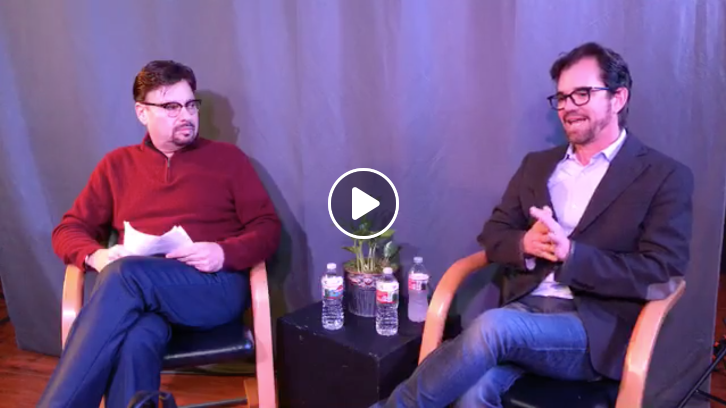 In Conversation Series: Howard Fine interview's Talent Manager Kyle Fritz at the LA Studio (February 17, 2019)