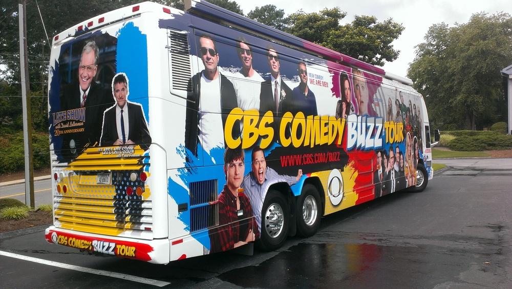 CBS Comedy Buzz Tour