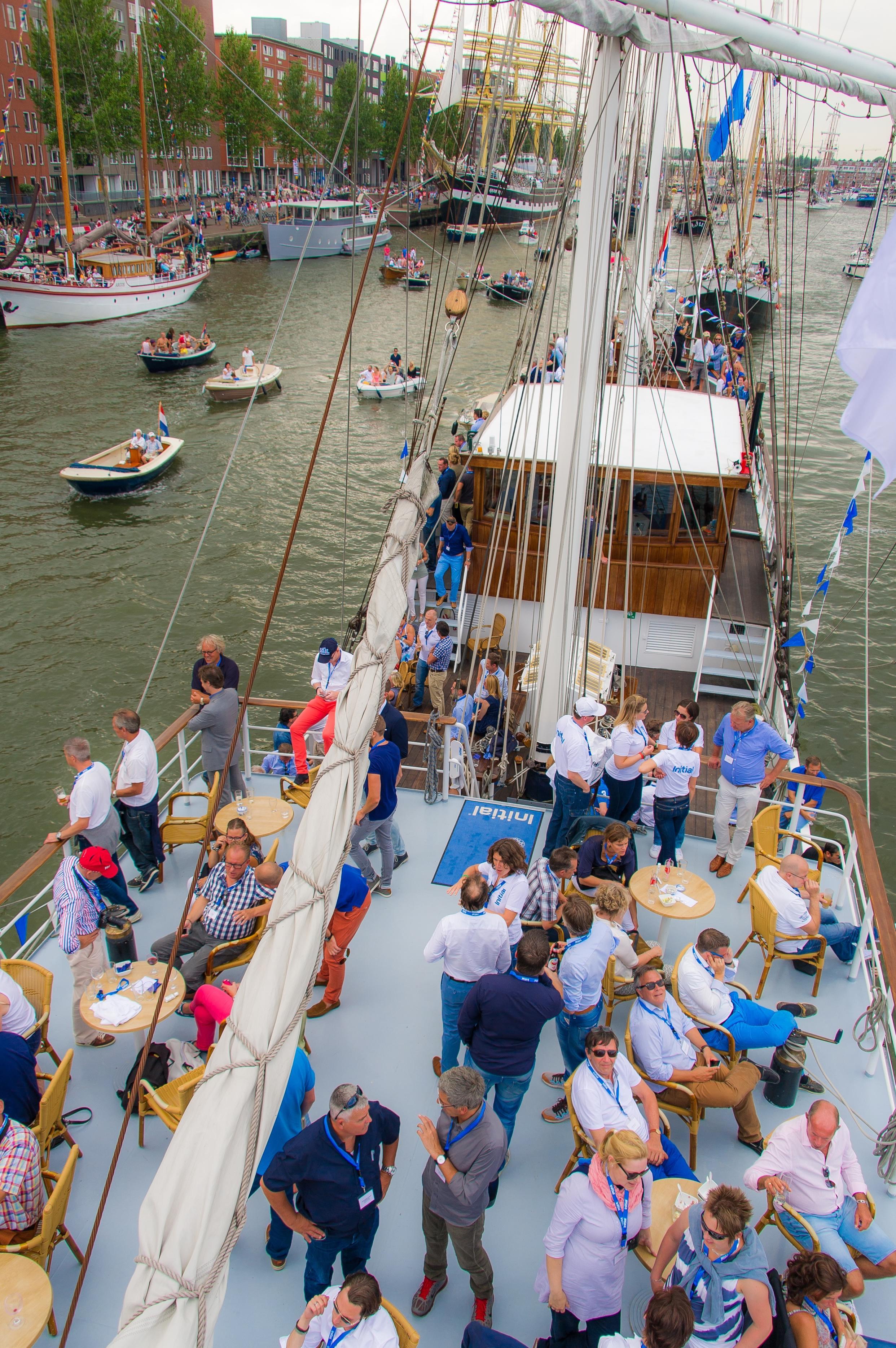 Initial Klantenbinding Event tijdens Sail '15