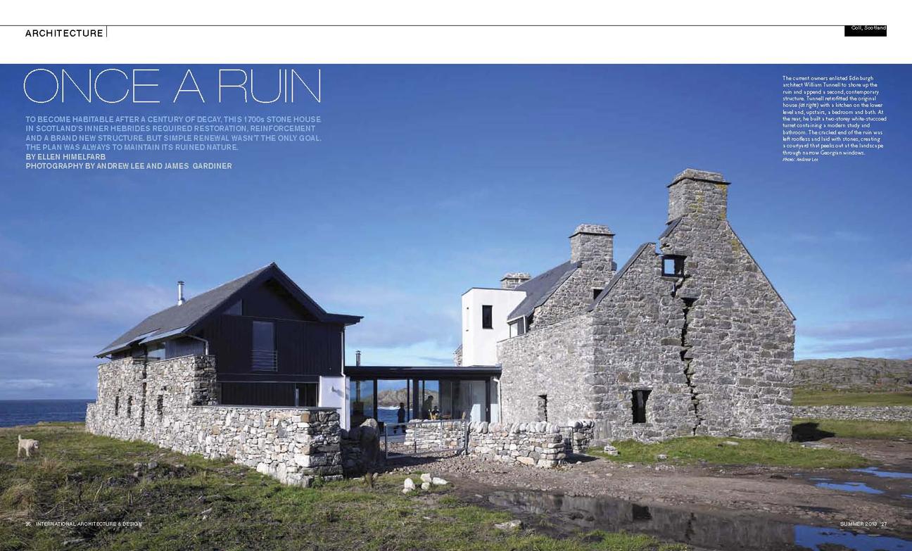 International Architecture Magazine 01 – James Gardiner