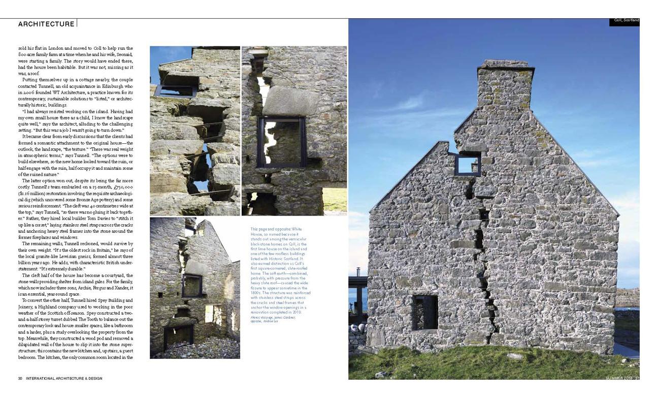 International Architecture Magazine 03 – James Gardiner