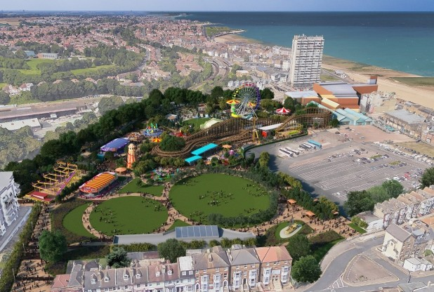 Artists impression of the new park