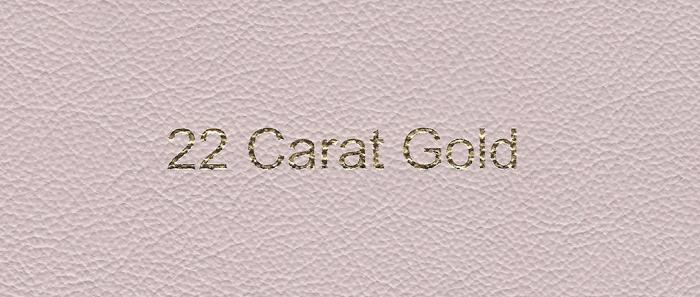 22 CARAT GOLD*
